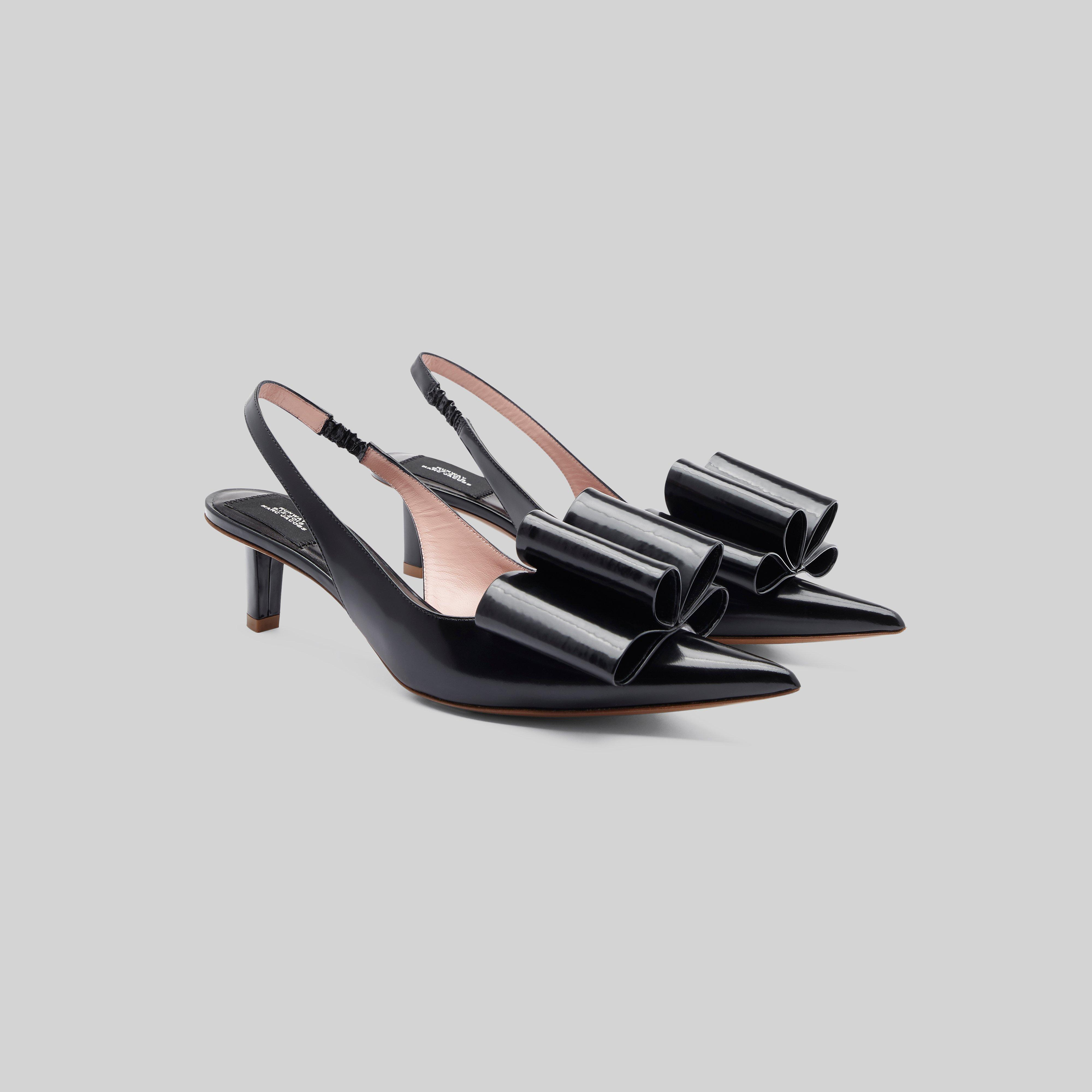 Marc Jacobs Leather Slingback Pump With