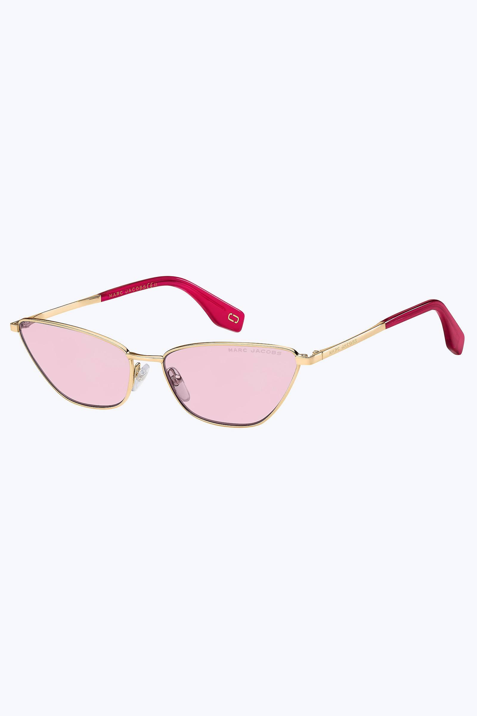 947d5ec64624 Marc Jacobs Retro Vintage Mini Cat-eye Sunglasses in Pink - Lyst