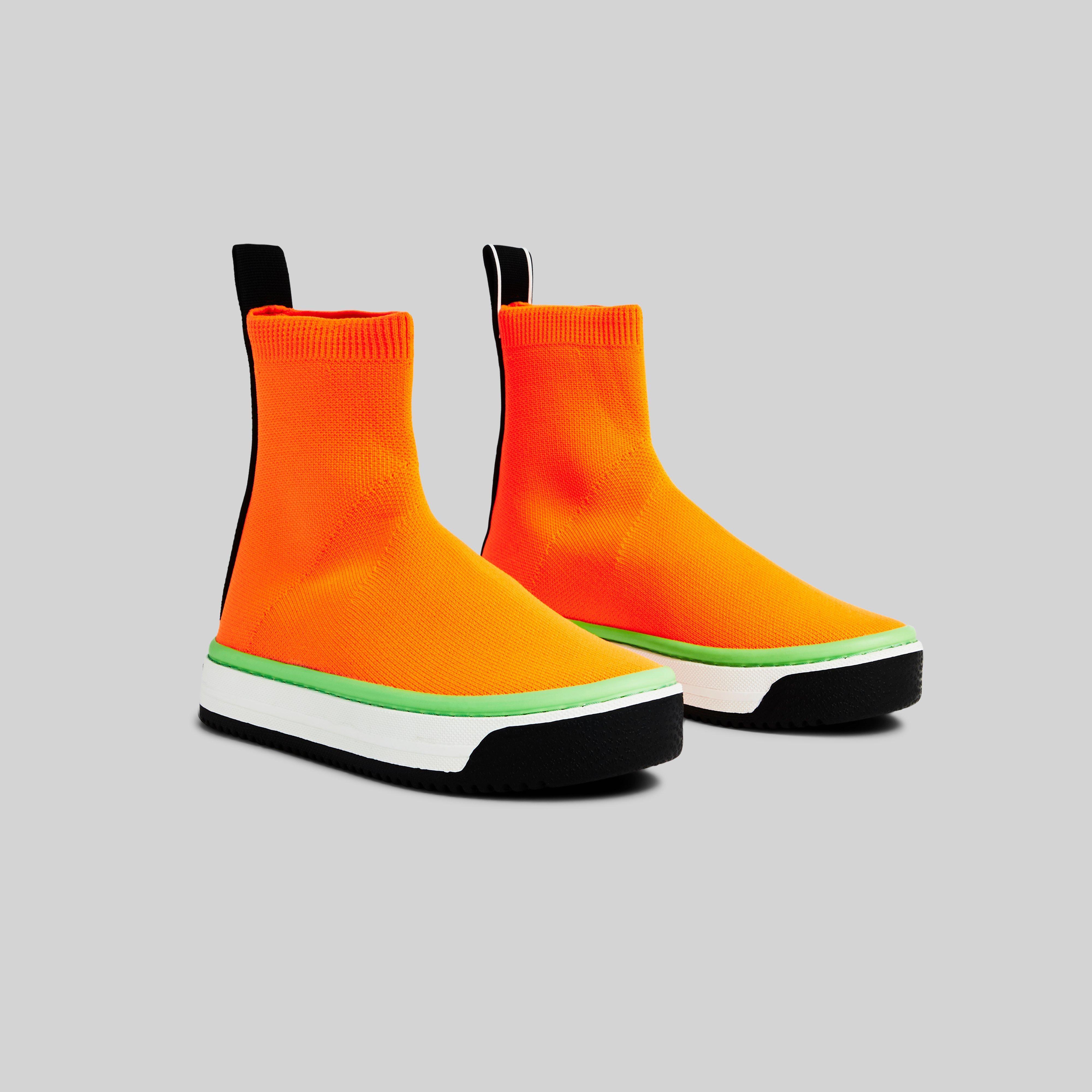 Marc Jacobs Dart Sock Sneaker in Orange