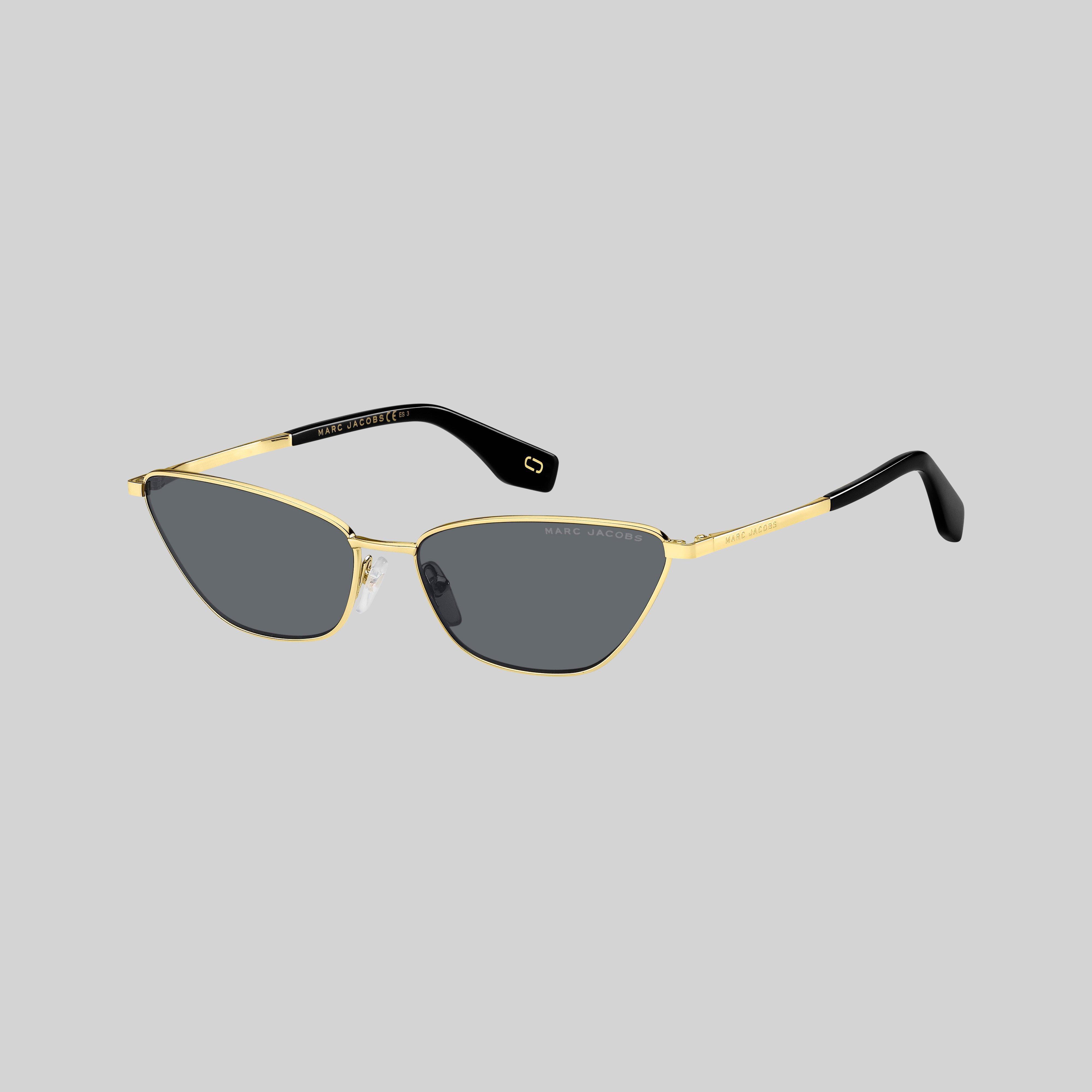 Large Oversized Thick Arm Metal Dot Women geo SQUARE Sunglasses Vintage