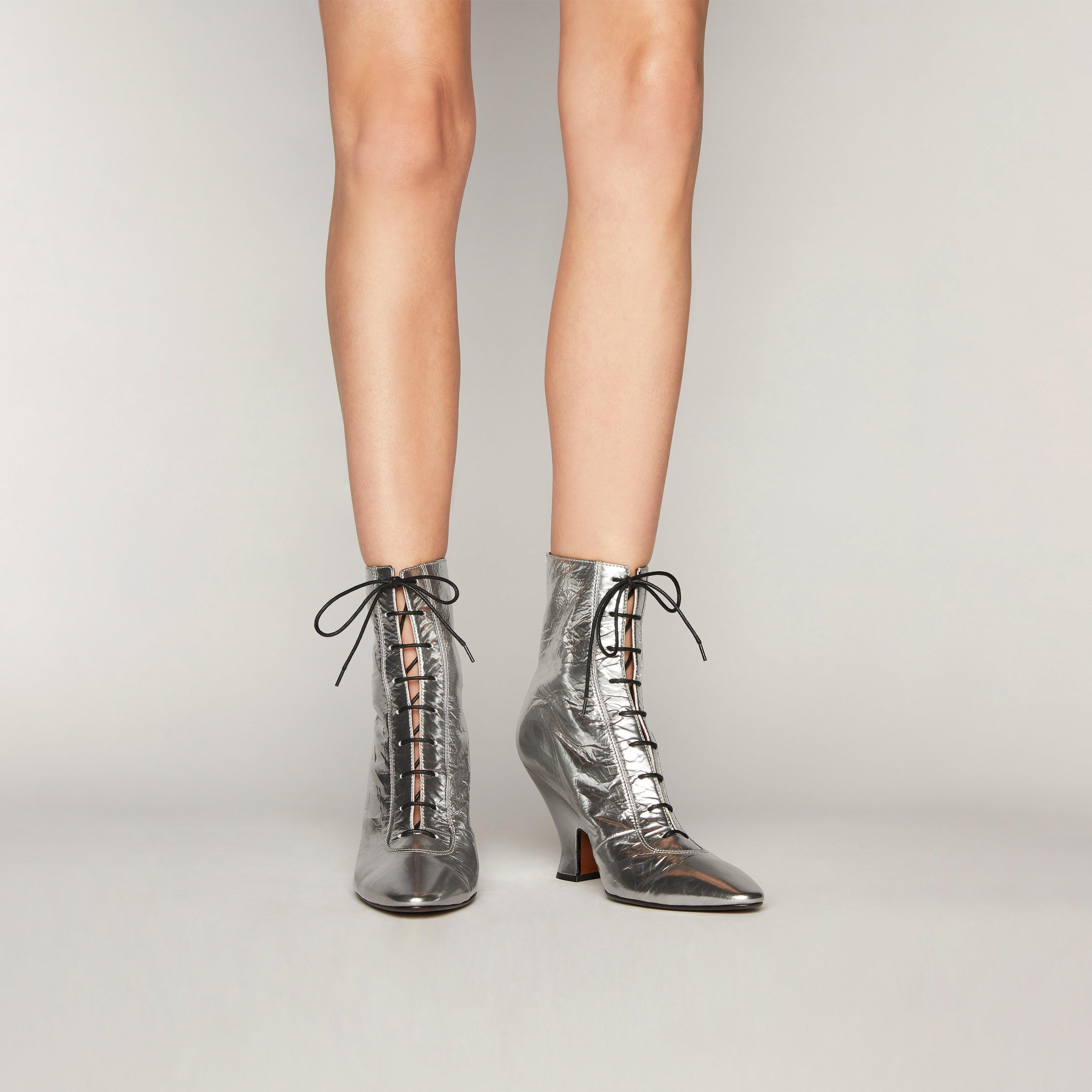Marc Jacobs Leather The Victorian Boots