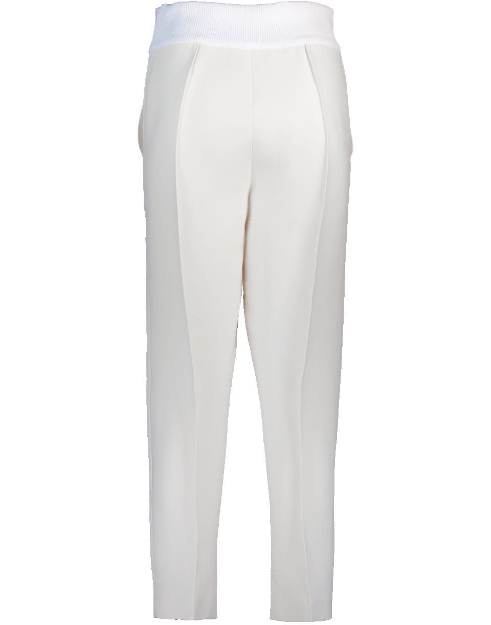 5f5f43d19714ca Fendi Logo Waistband Pant in White - Lyst