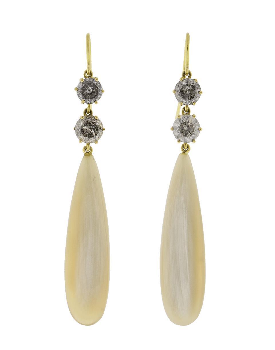 Sylva & Cie. Cornelian Drop Earrings SDCz7k