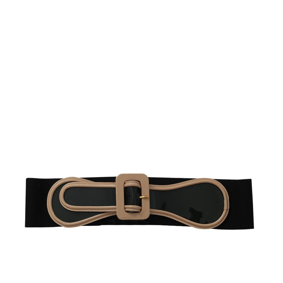 ribbed knitted belt - Blue Marni l3bguD