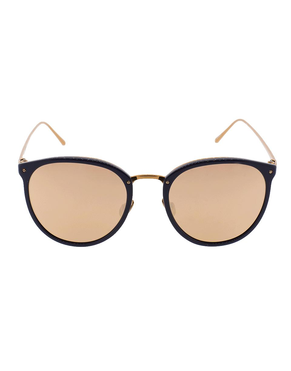 2f5aeb3a638e Linda Farrow - Multicolor Oval Sunglasses - Lyst. View fullscreen