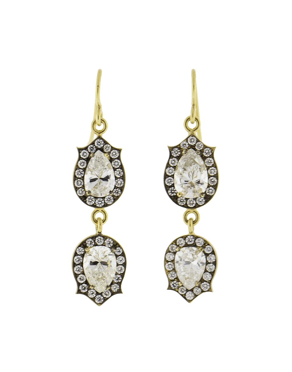 Sylva & Cie. Fluorite Drop Earrings QrZDjpE