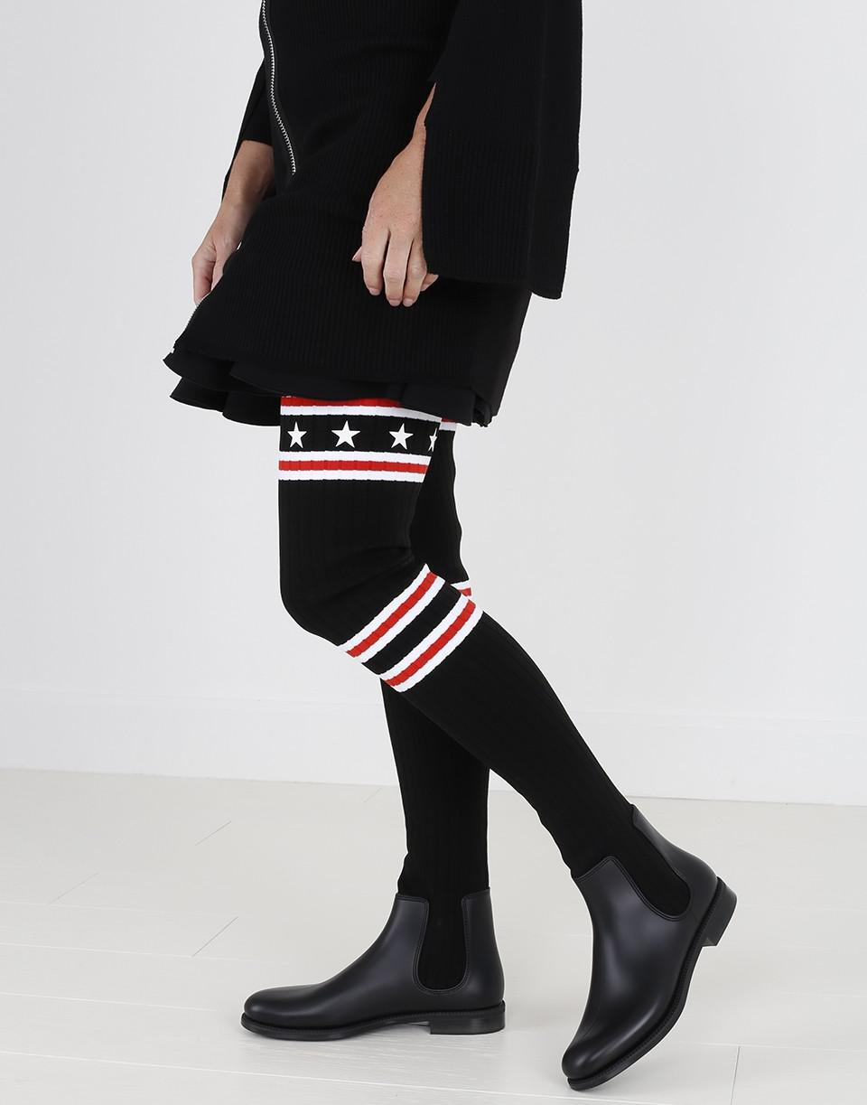 Givenchy Synthetic Over The Knee Sock Rain Boot In Black