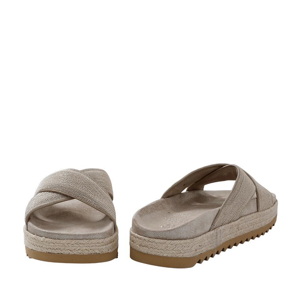 Brunello Cucinelli Monili Flatform Sandals cheap sale footlocker finishline 9aGVwoXSu