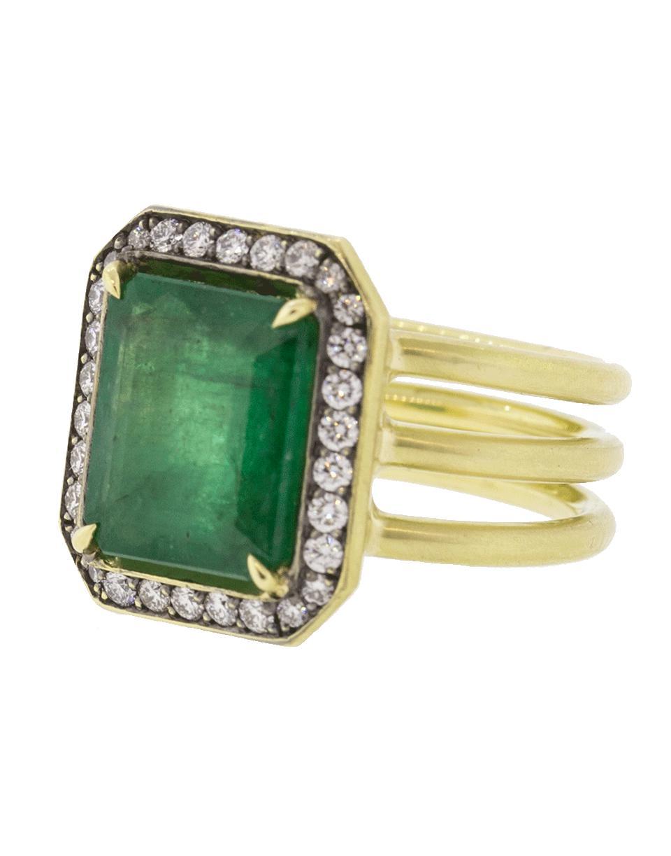 77d9e9200e5 Lyst - Sylva   Cie Brazilian Emerald Ring in Green