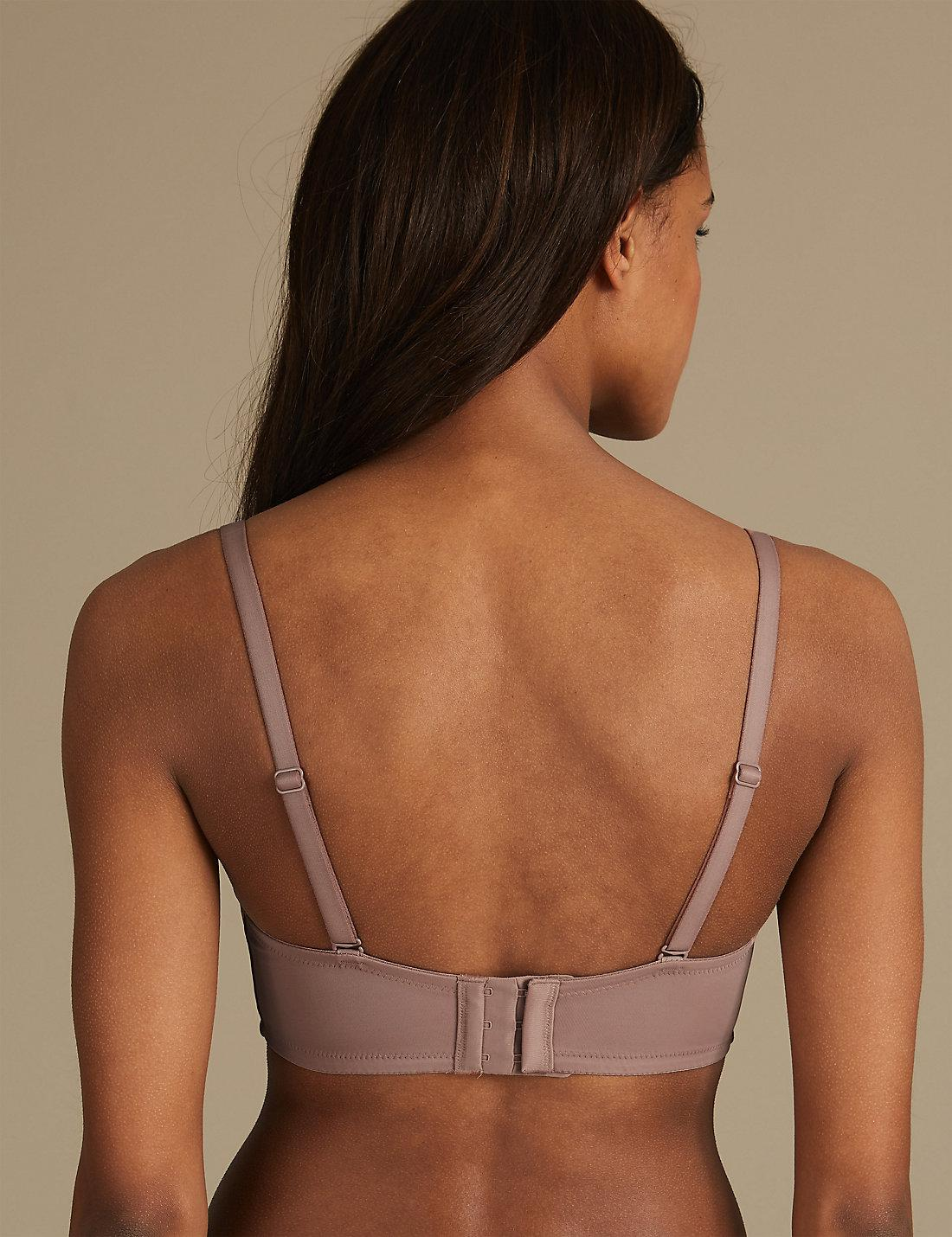 Lyst - Marks   Spencer Sumptuously Soft Padded Full Cup T-shirt Bra A-dd in  Brown 25fc821e7