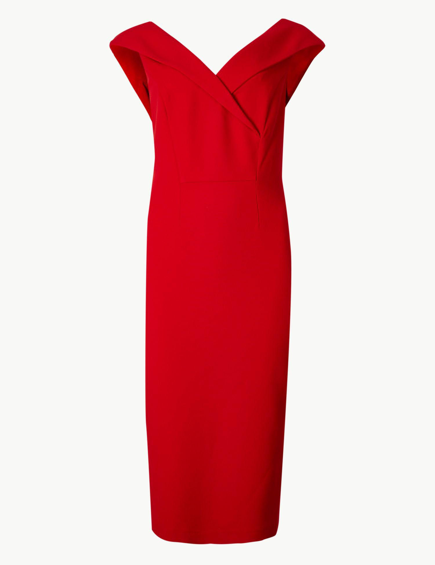 Hill quotes marks and spencer double crepe bodycon dress guide free shipping