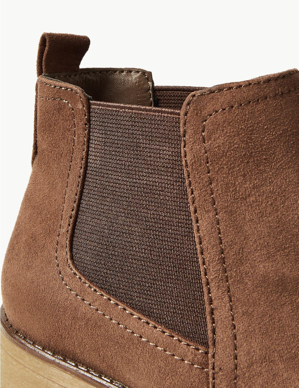 cheap hot new products new styles Marks & Spencer Chelsea Ankle Boots in Mink (Brown) - Lyst