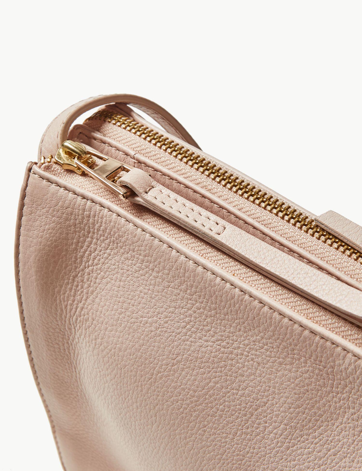 88c31d9fe64 Marks   Spencer - Natural 2 Part Leather Cross Body Bag - Lyst. View  fullscreen