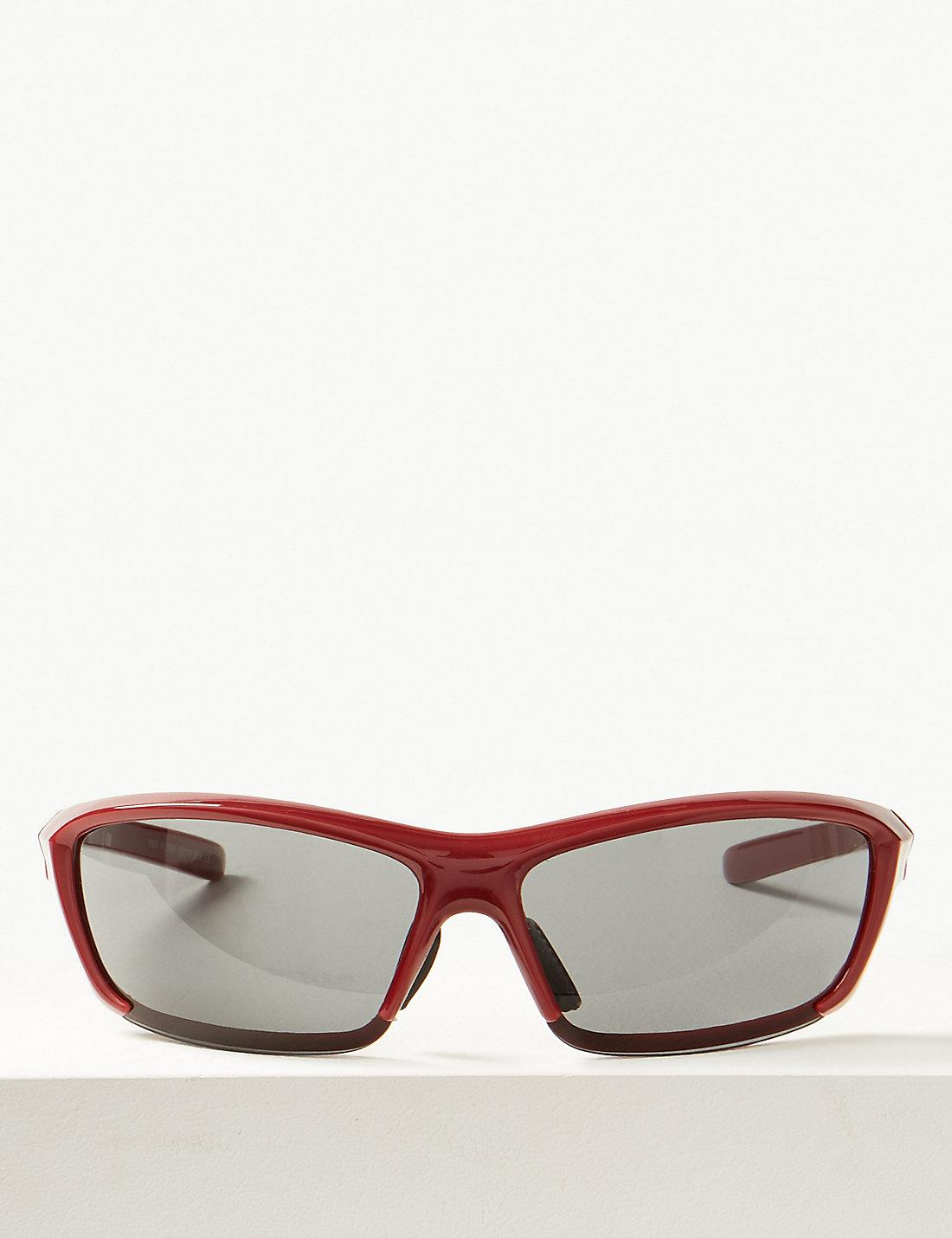 3ba72148c5a Lyst - Marks   Spencer Sport Wrap Sunglasses in Red for Men