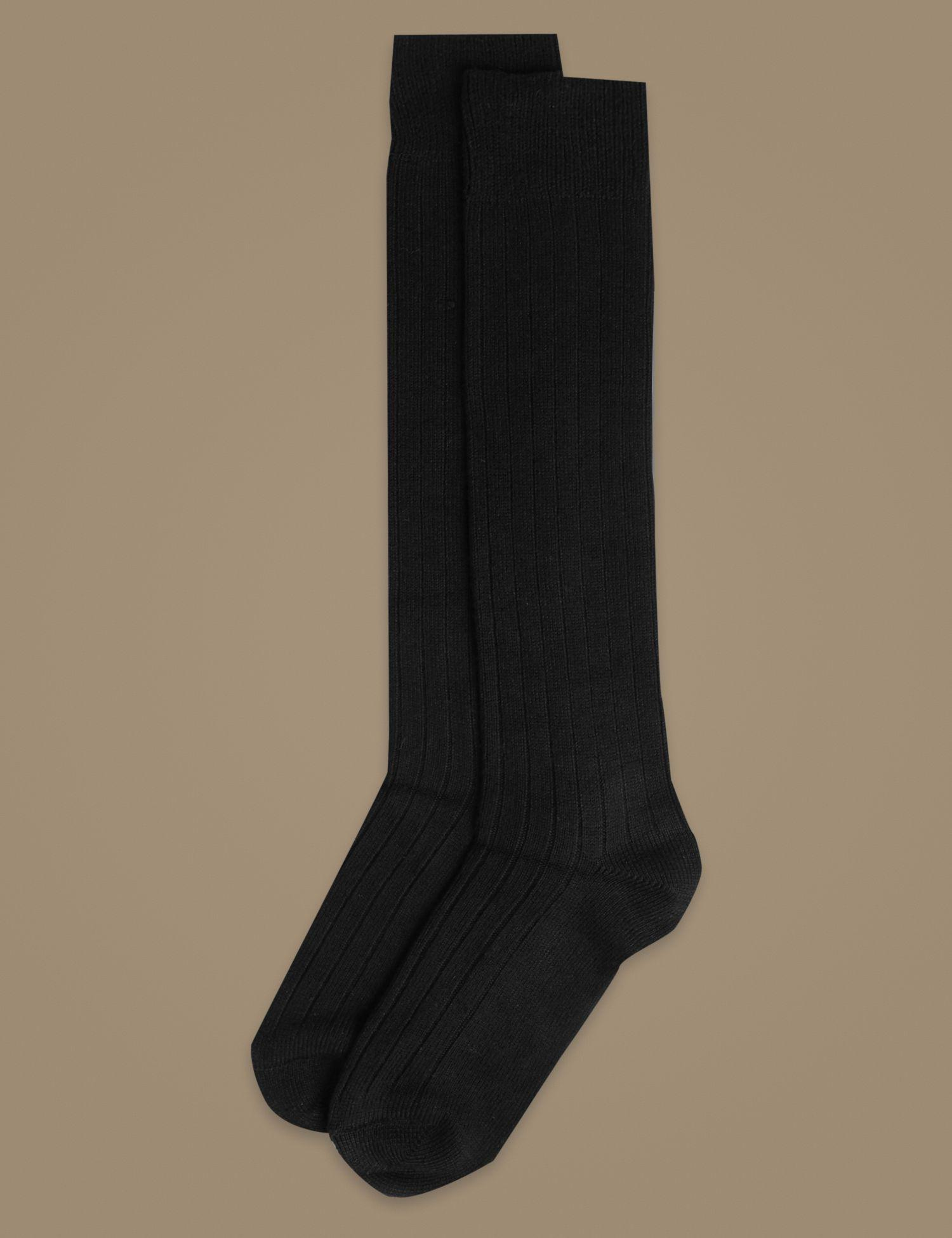 cf2308641 Marks   Spencer 2 Pair Pack Thermal Knee High Socks in Black - Lyst