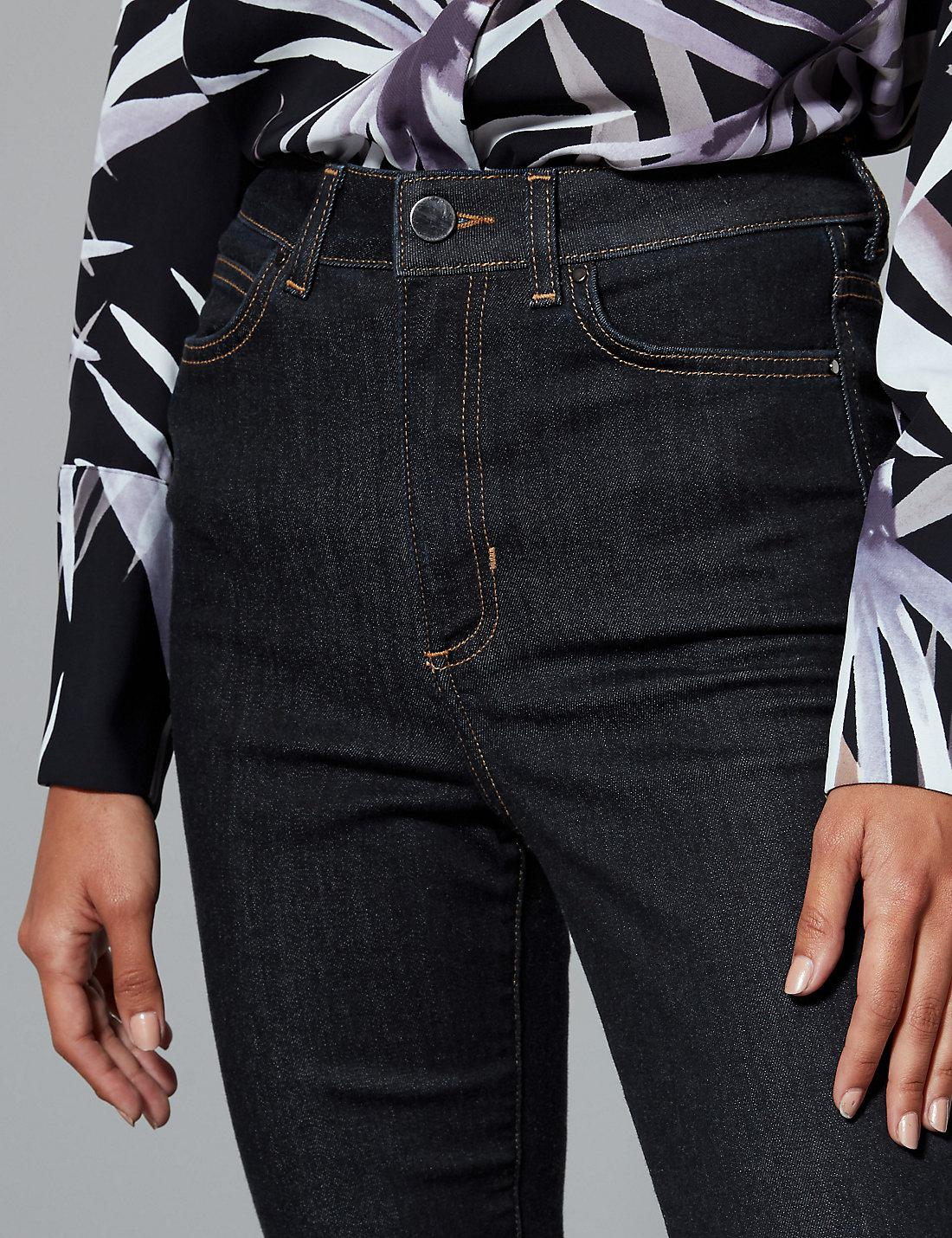 2e91646360c61f Lyst - Marks & Spencer High Waist Skinny Leg Jeans in Blue