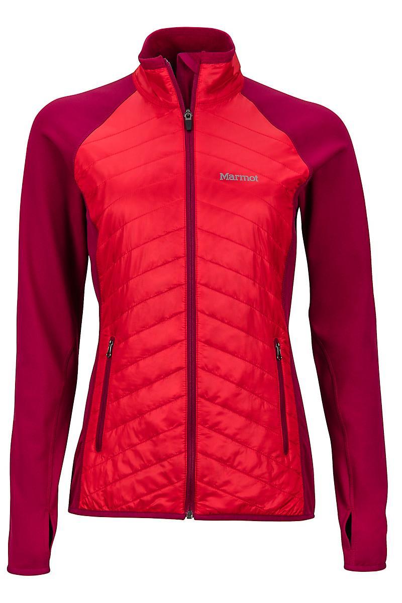 Marmot Fleece Wm S Variant Jacket In Red Lyst