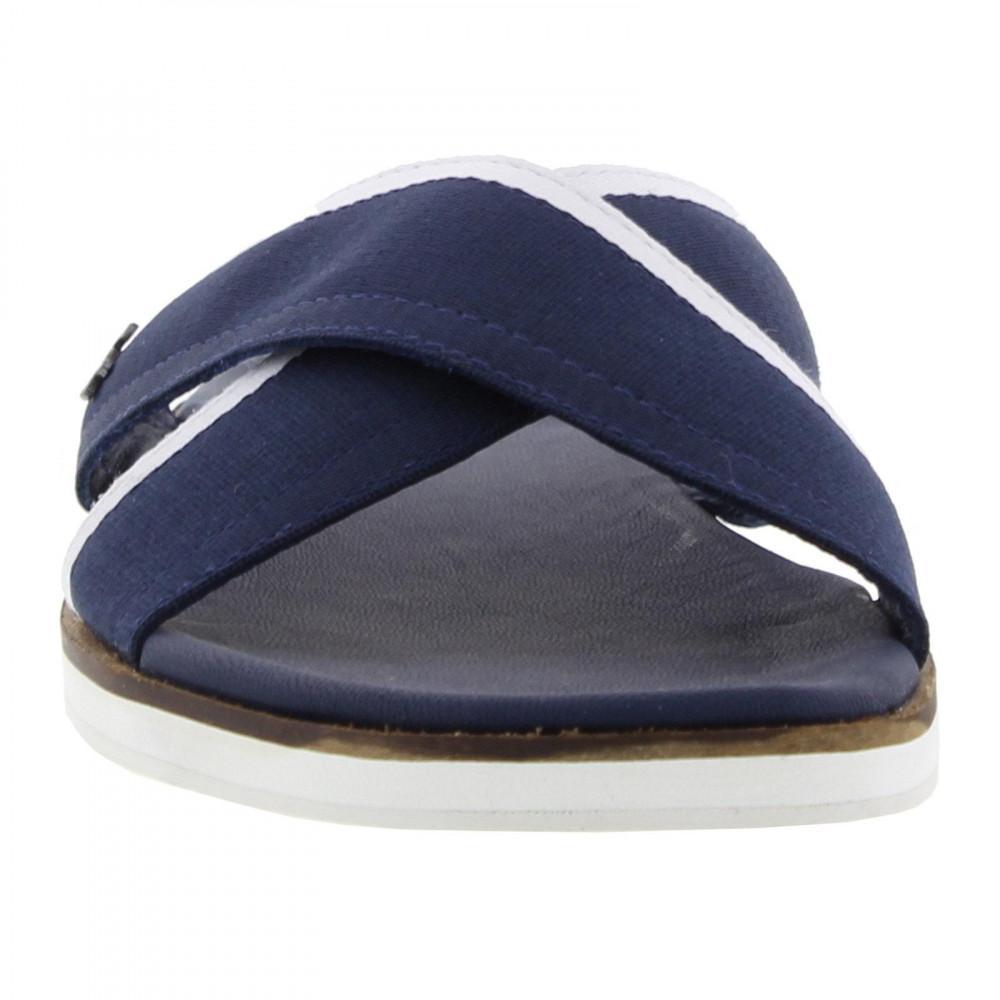 67ecb8d40ee Lacoste - Blue Coupri Sandal 117 1 Cam Slide Sandals for Men - Lyst. View  fullscreen