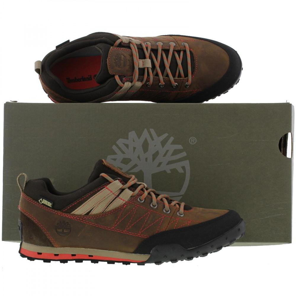 10724fc7b8373 Timberland Brown Greeley Approach Low Gtx Walking Shoes