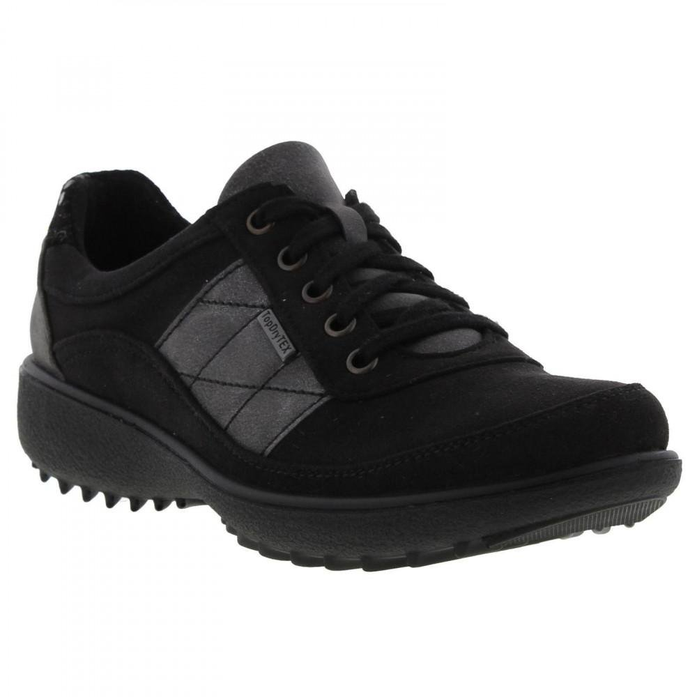 7db7251883 Romika Nadja 129 Waterproof Lace Up Shoes Trainers in Black - Lyst