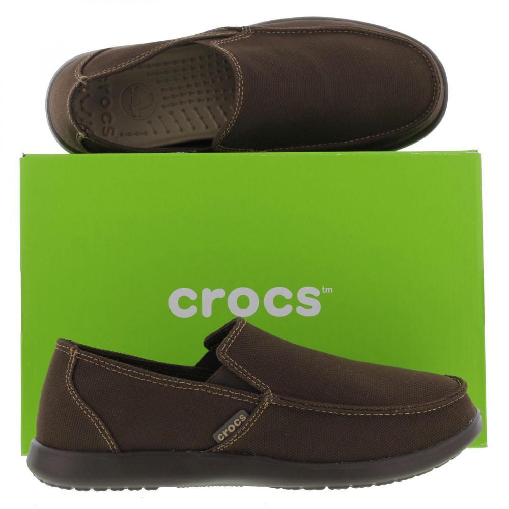 566f23dea9b Crocs™ - Multicolor Santa Cruz Clean Cut Loafers Slip On Shoes for Men -  Lyst. View fullscreen
