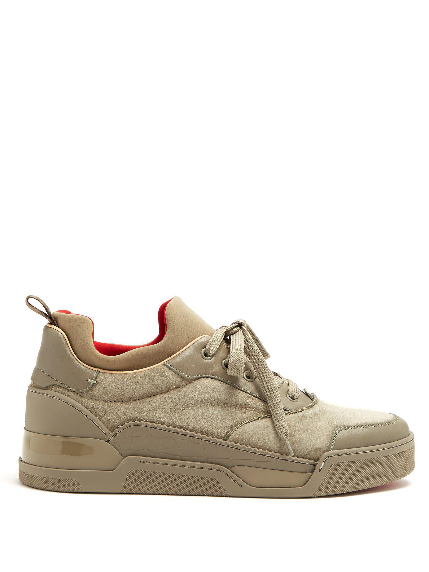 d10aae6d992 Men's Aurelien Low-top Suede Sneakers