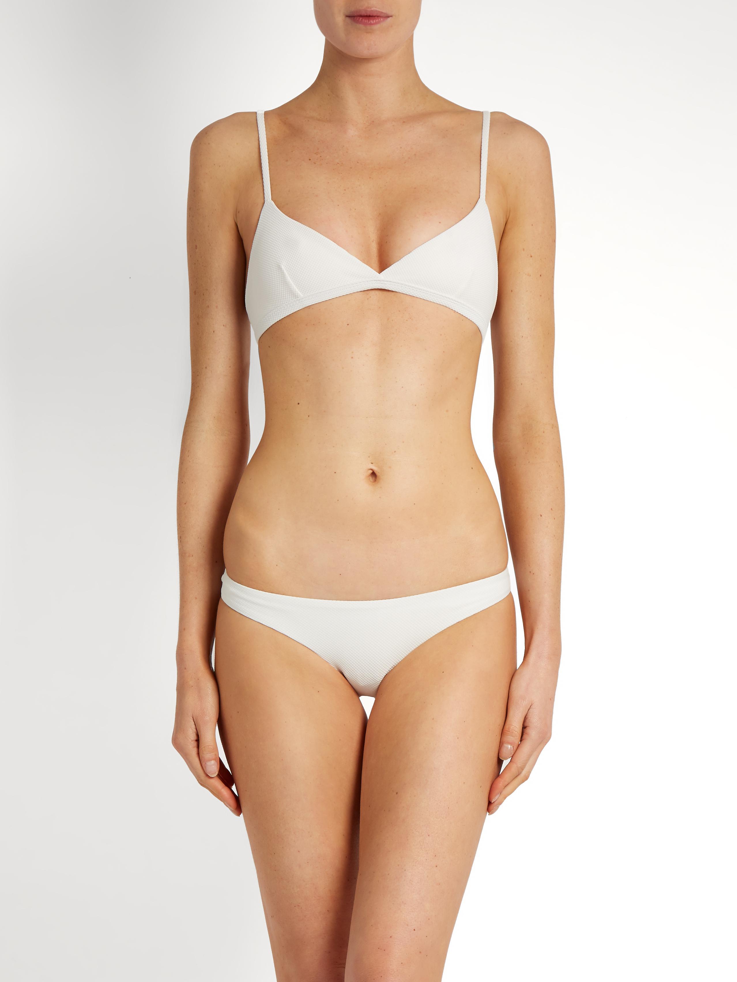 the tri crop bikini Matteau Pre Order BT6SUyThJL