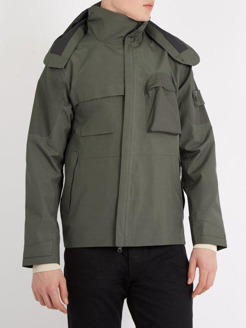 Stone Island Synthetic Ghost Technical Jacket in Grey (Grey) for Men