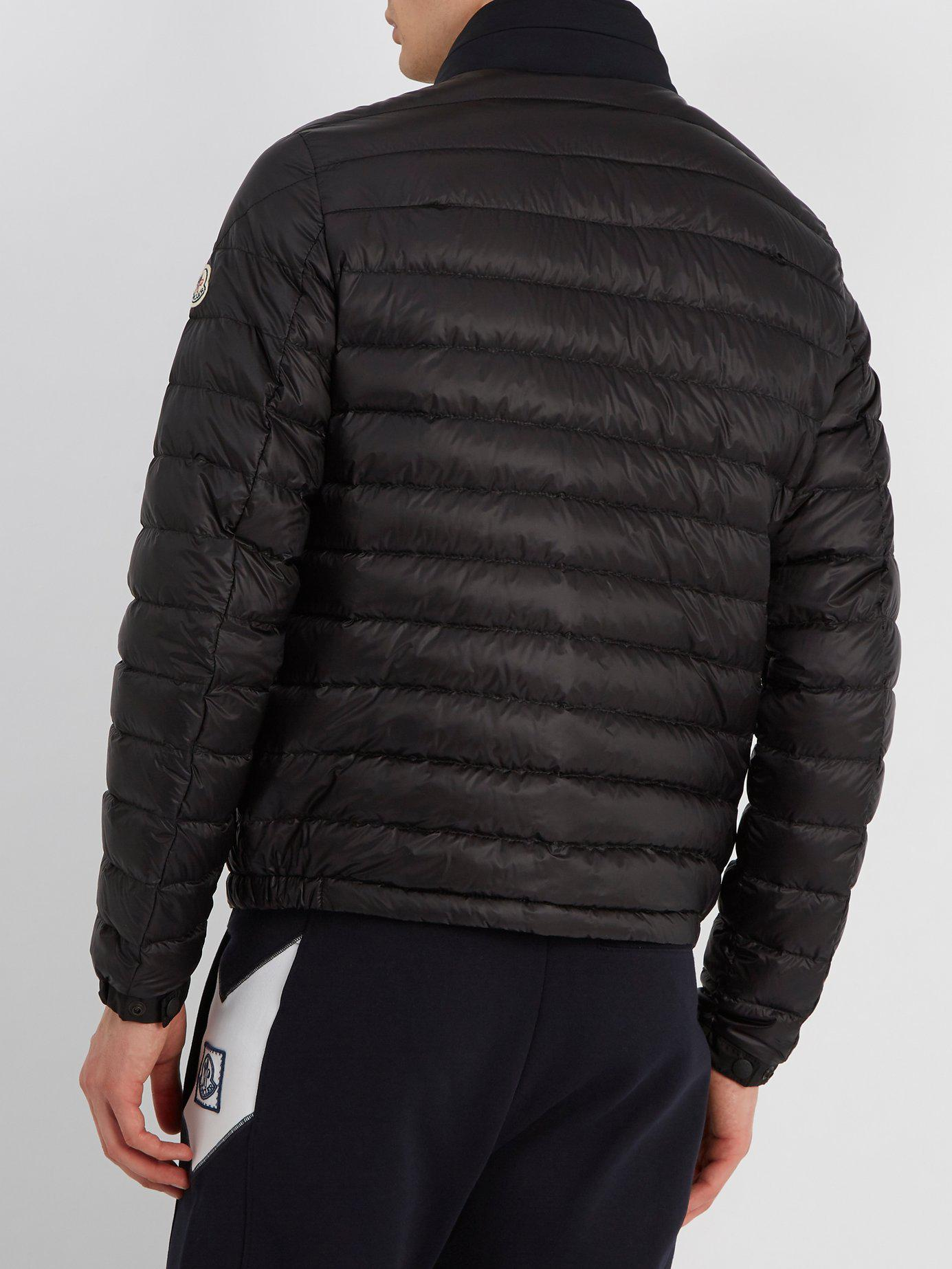 Moncler Synthetic Arroux Hooded Quilted-down Jacket in ...