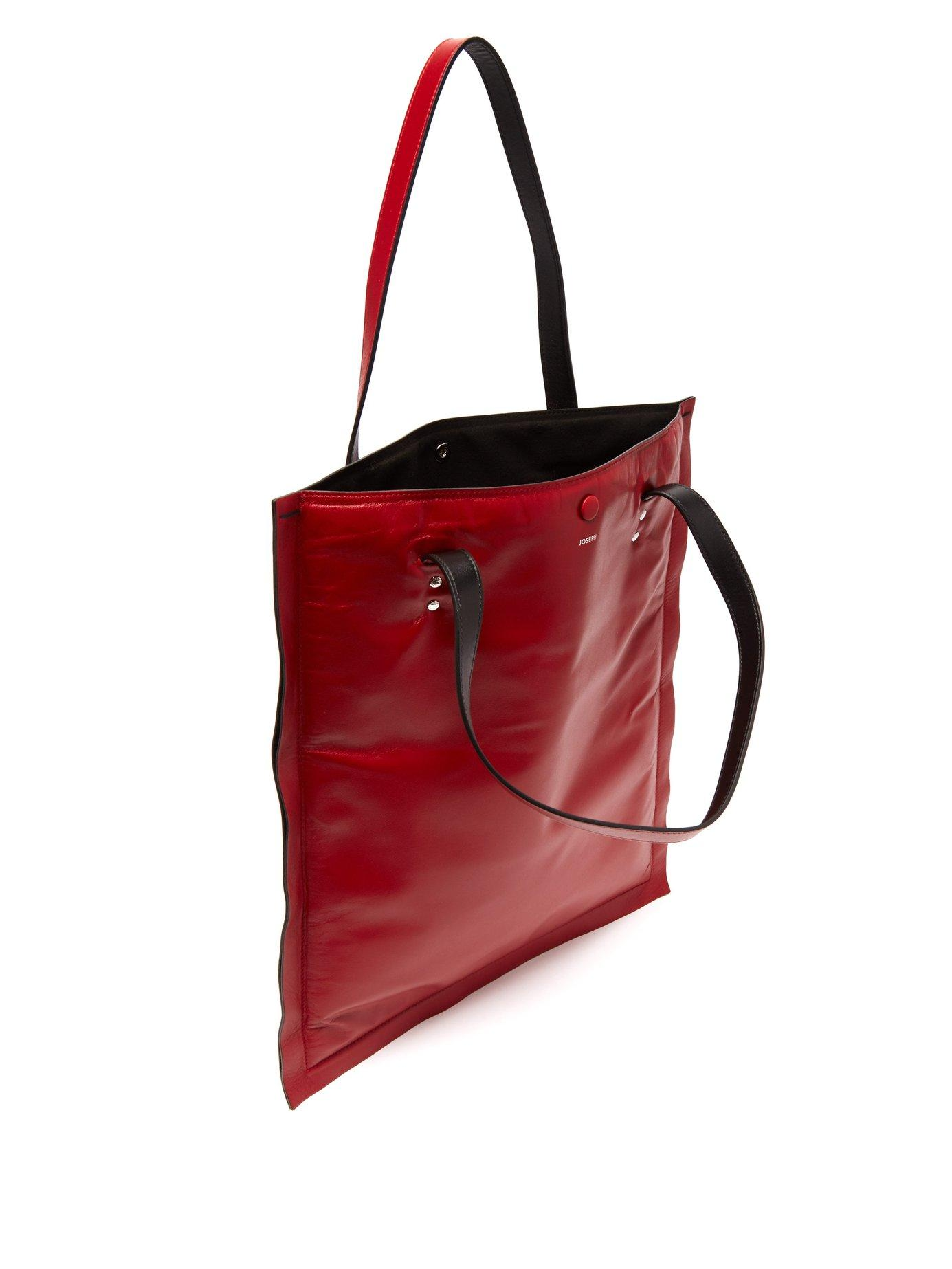 Marcel Pillow Padded Leather Tote