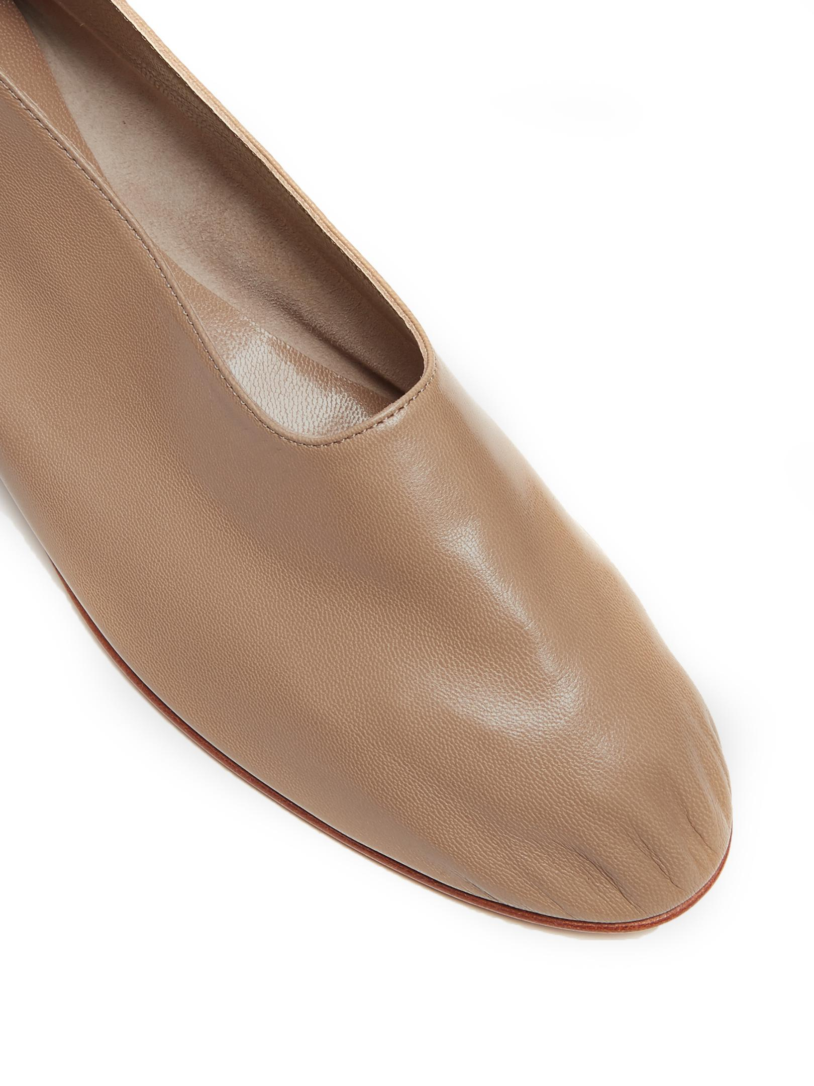 From China Online Purchase Cheap Online Martiniano Leather Ballet Flats Buy Cheap Extremely WfXDZ4