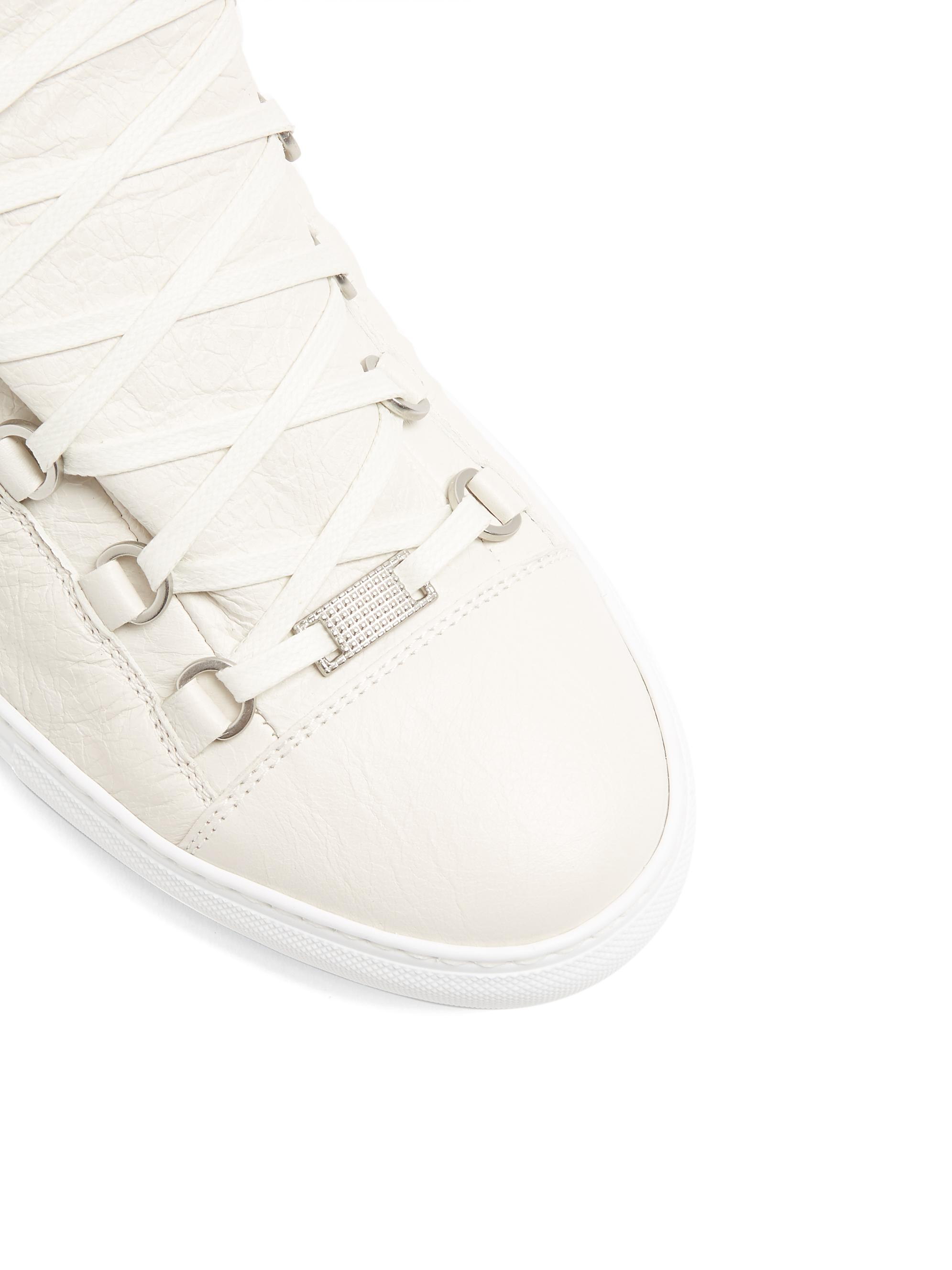 Balenciaga Arena Low-top Leather Trainers for Men
