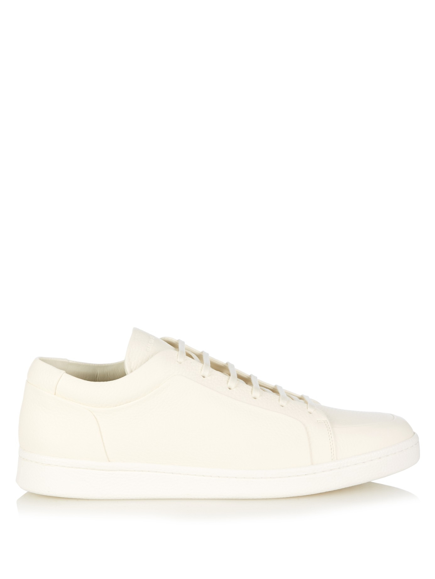 fa5bf7d5049b Lyst - Balenciaga Urban Low-top Leather Trainers in White for Men