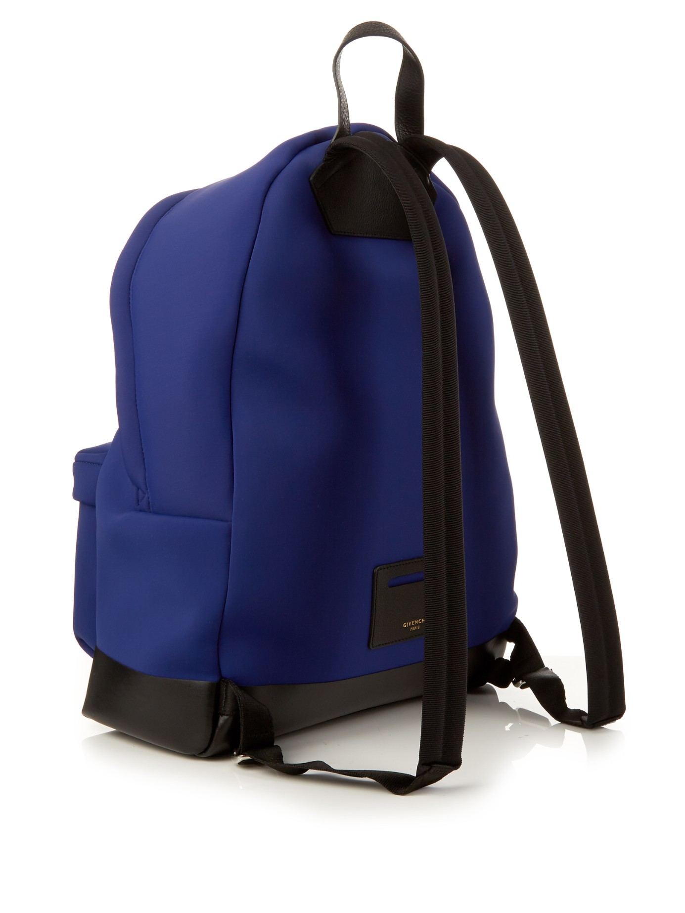 Givenchy Star And Stripe Neoprene Backpack in Blue for Men