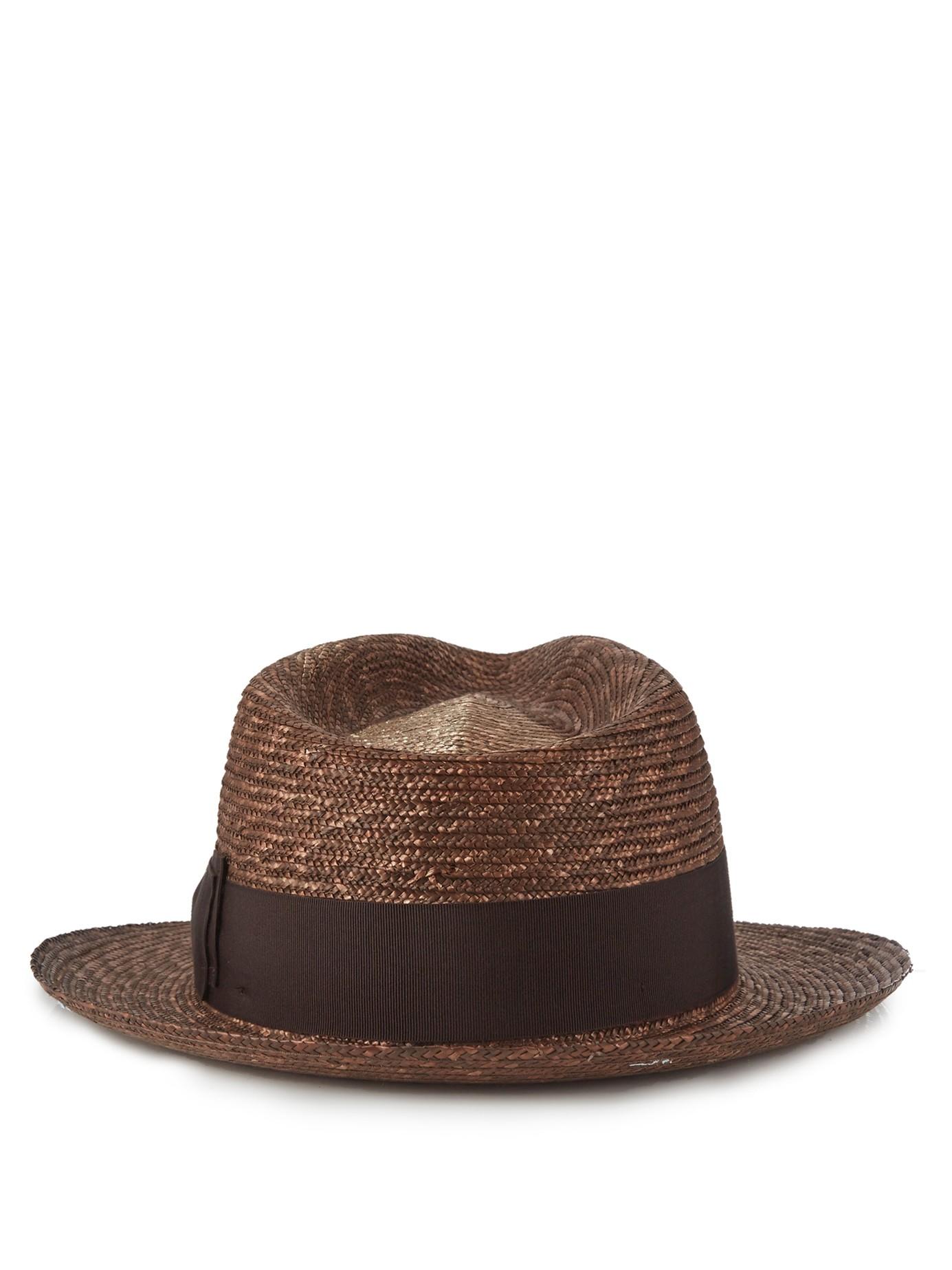 Black Brim Hat Fashion
