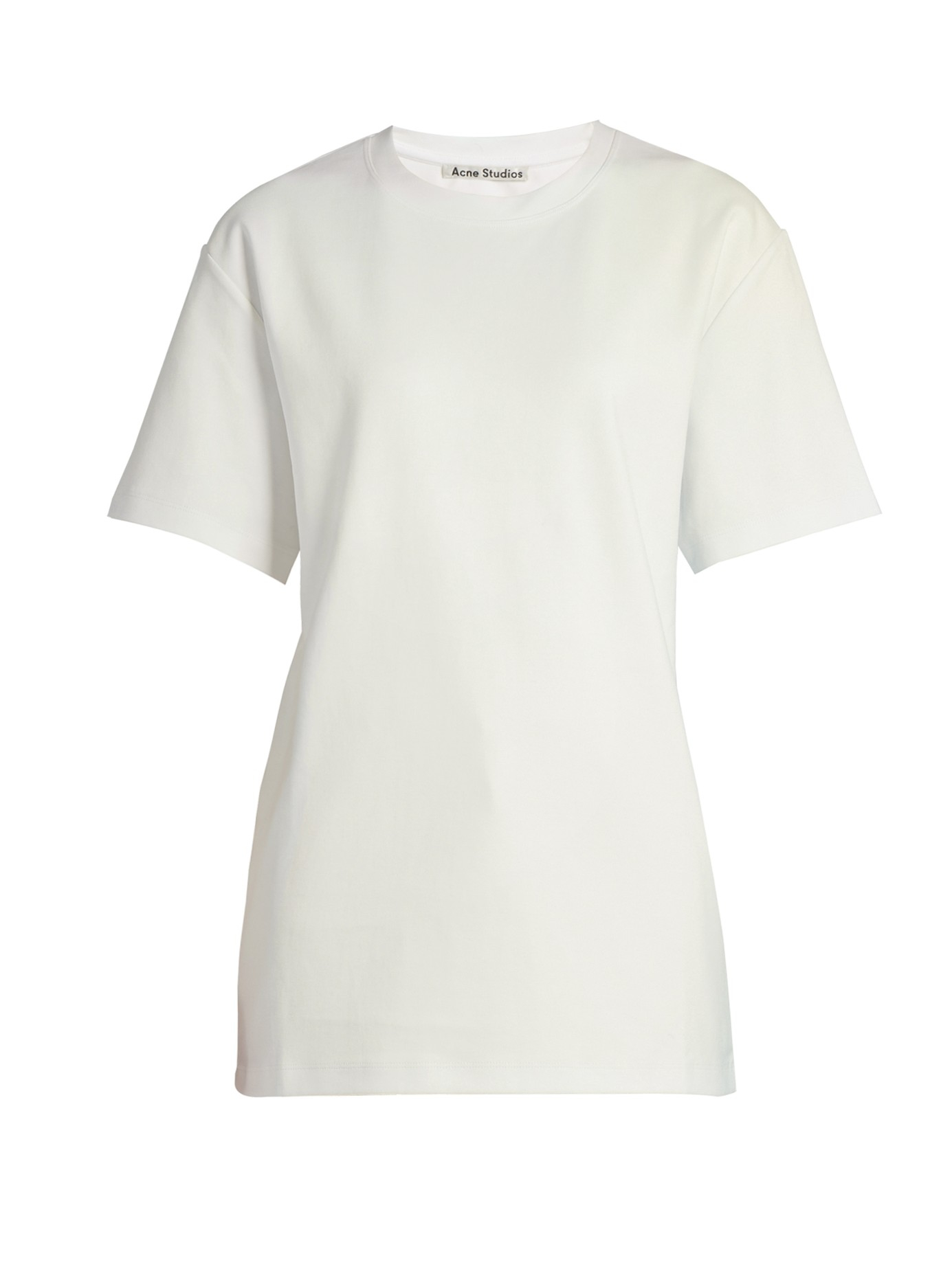 Lyst Acne Studios Enya Short Sleeved Cotton T Shirt