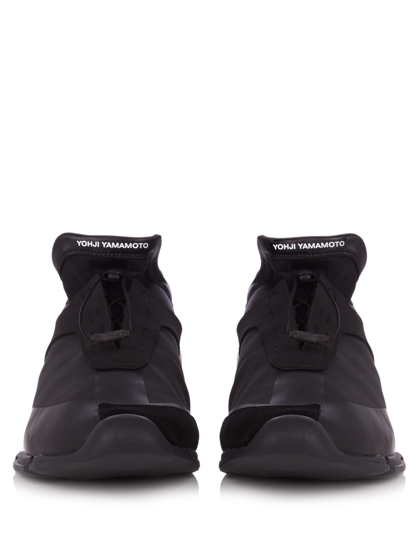 Y-3 Neoprene Future Toggle-tie Low-top Trainers in Black for Men