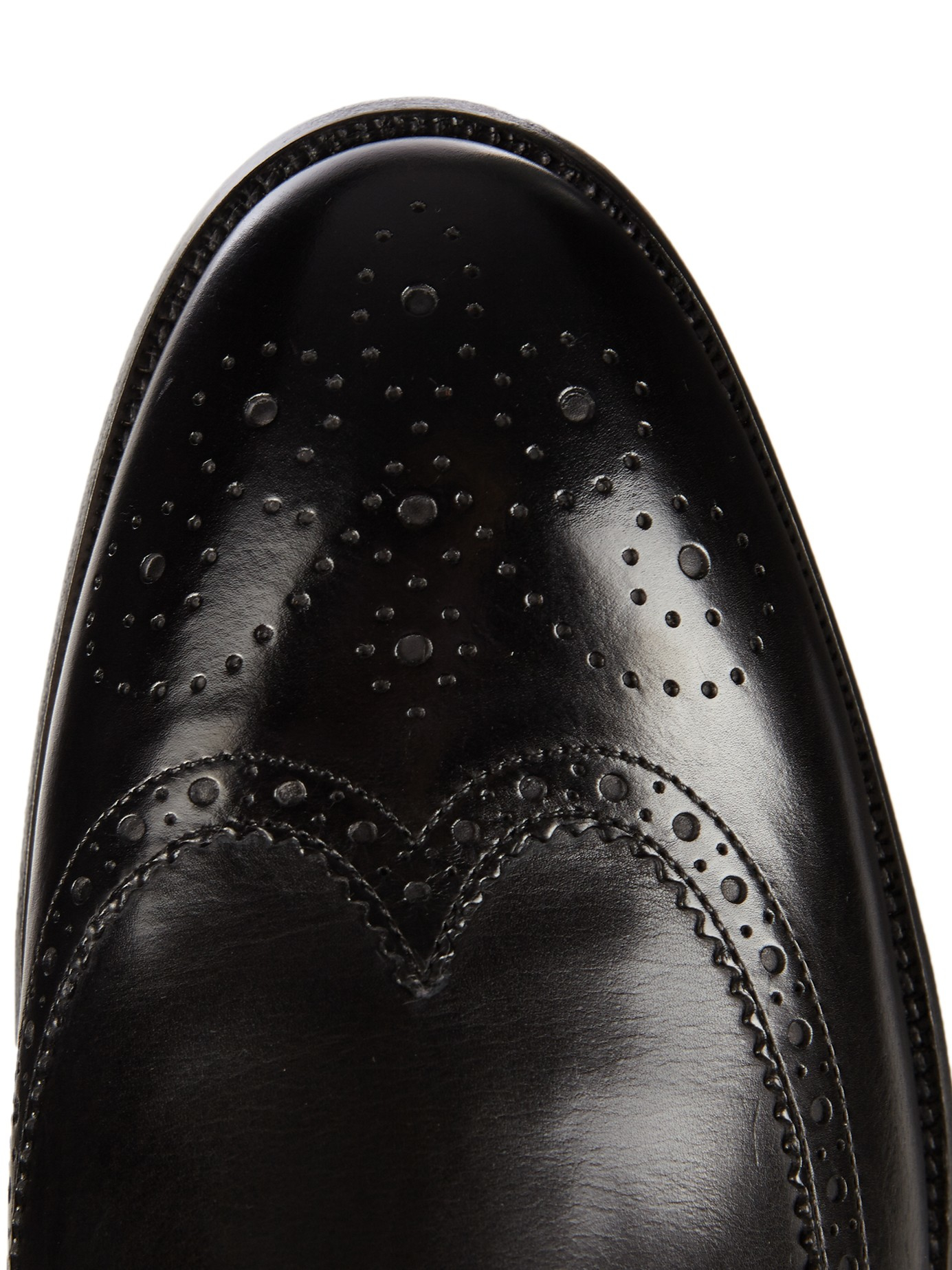 Paul Smith Talbot Leather Brogues in Black for Men