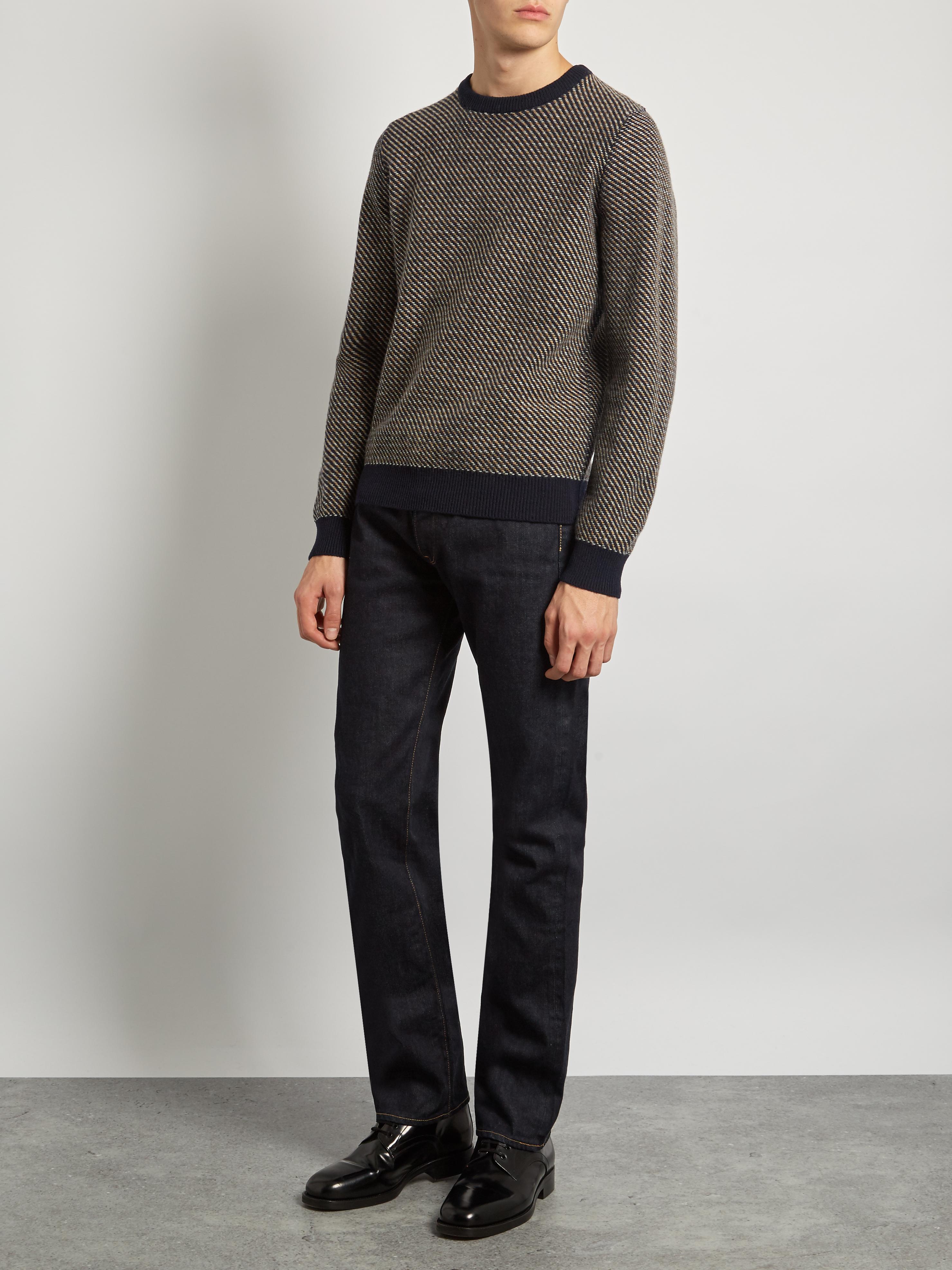 Kuro Denim Graphite Straight-leg Jeans in Navy (Blue) for Men