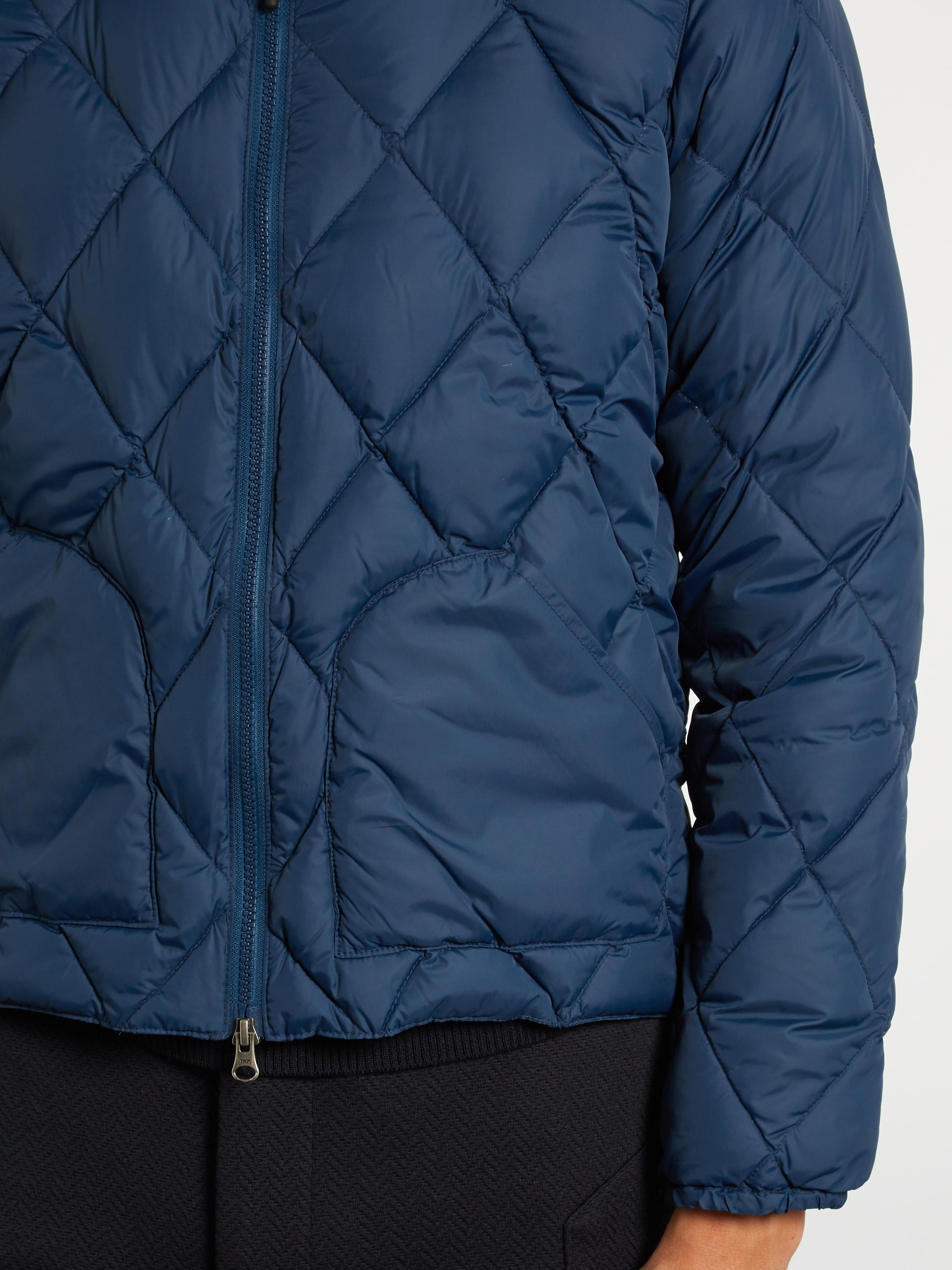 Mt. Rainier Design Synthetic Mr61310 Quilted Down Jacket in Indigo (Blue) for Men