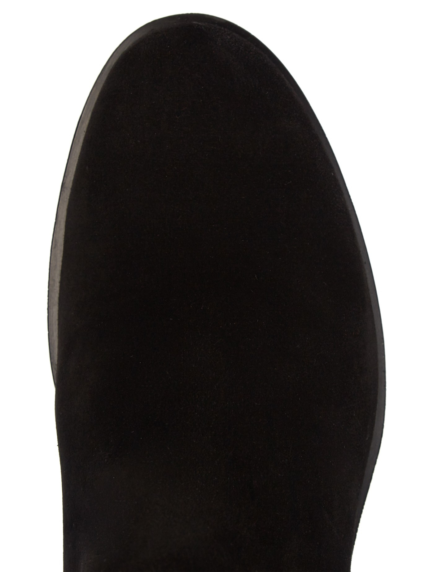 Weekend by Maxmara Ortisei Over-the-knee Suede Boots in Black