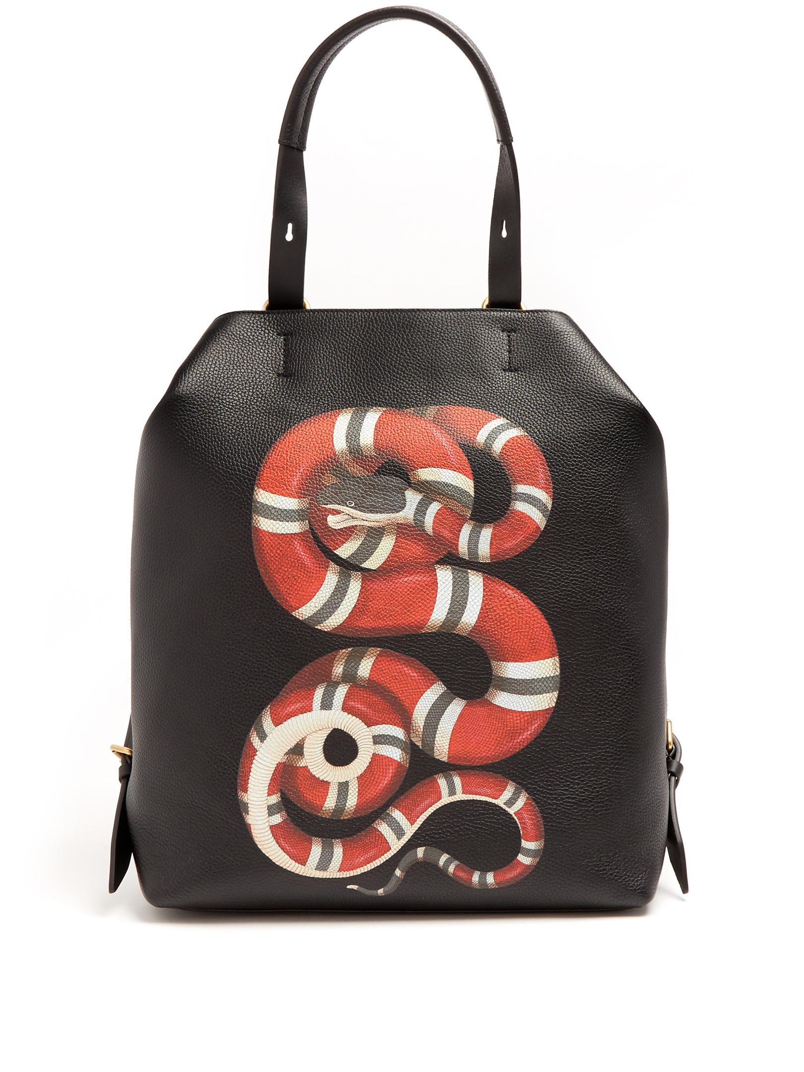 7d08b2621e10 Red And Black Gucci Backpack- Fenix Toulouse Handball