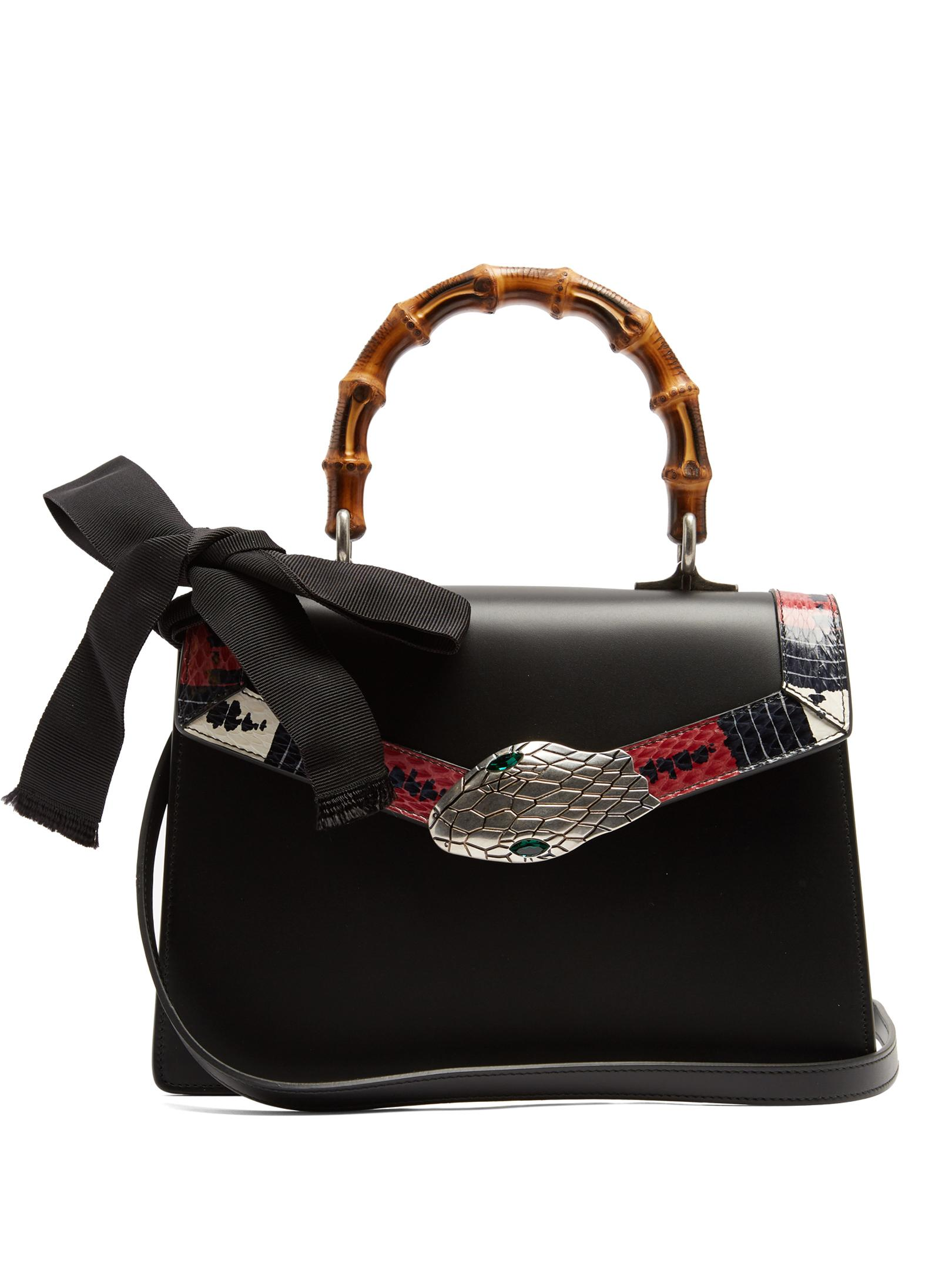5055d4bebb2c Gucci Bamboo Handle Black Bag | Stanford Center for Opportunity ...