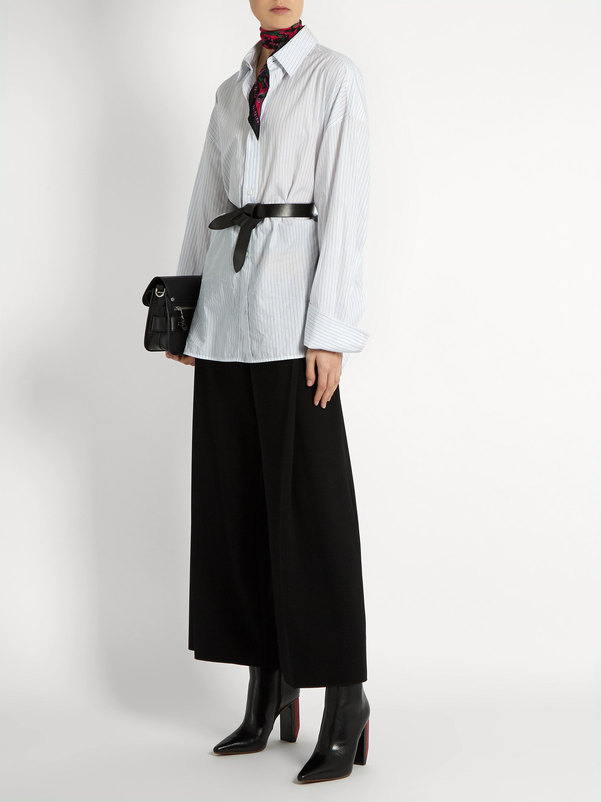 d59626f09a8 Étoile Isabel Marant Black Lecce Leather Knot Waist Belt
