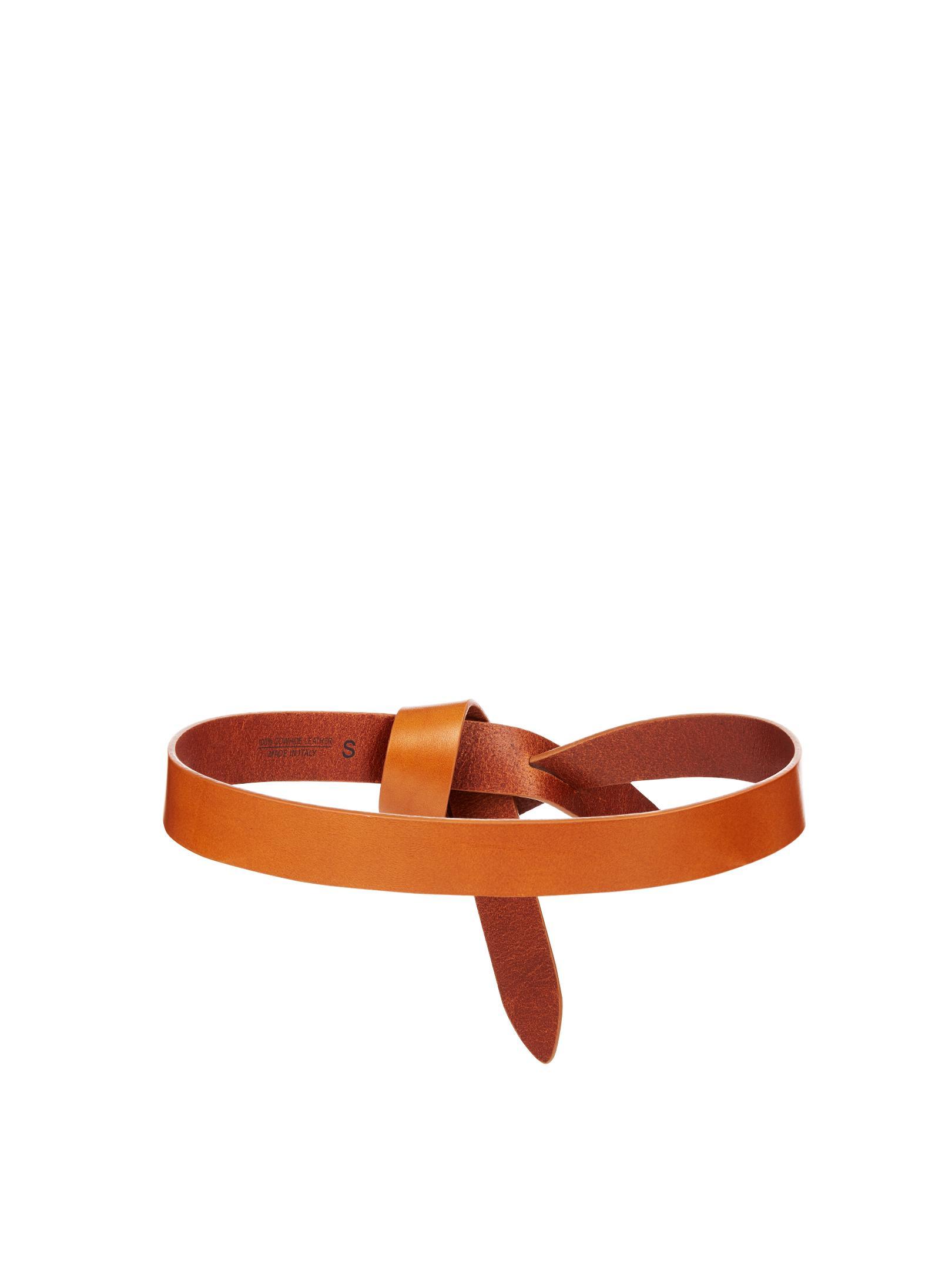 7bb05f43db0 Étoile Isabel Marant Multicolor Lecce Leather Knot Waist Belt