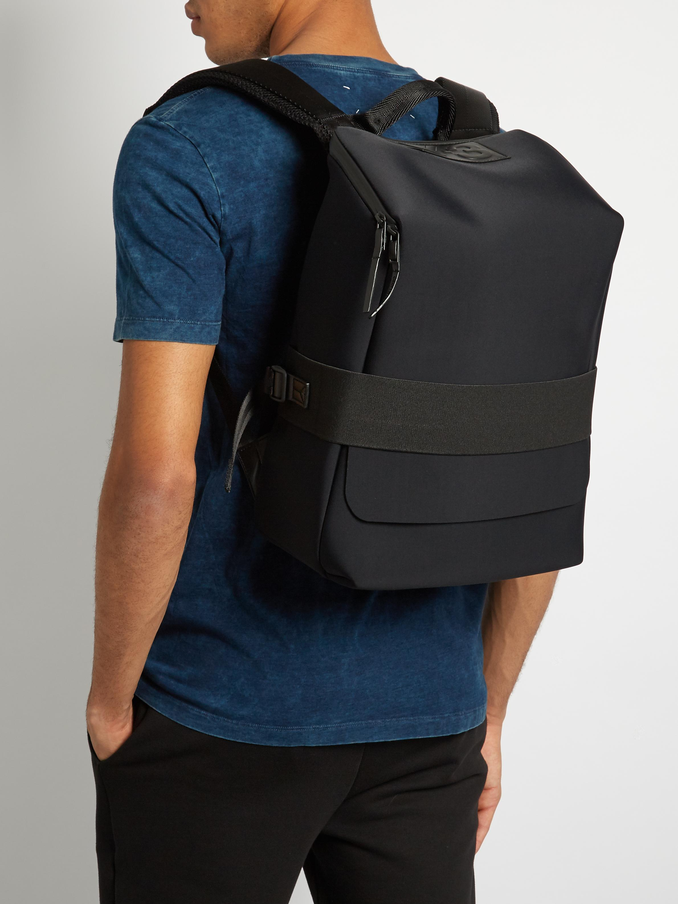 11cec5f08a08 Lyst - Y-3 Qasa Small Backpack in Black for Men