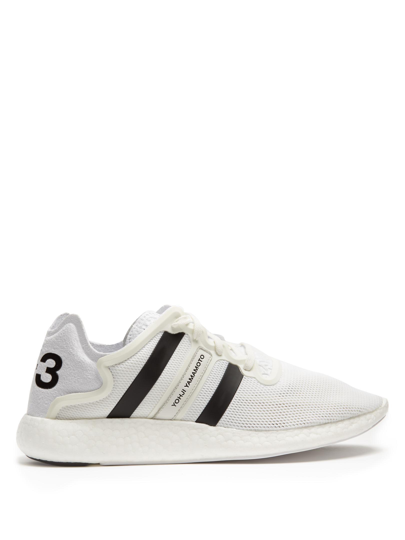 fdd5528ad Lyst - Y-3 Yohji Run Low-top Trainers in White for Men