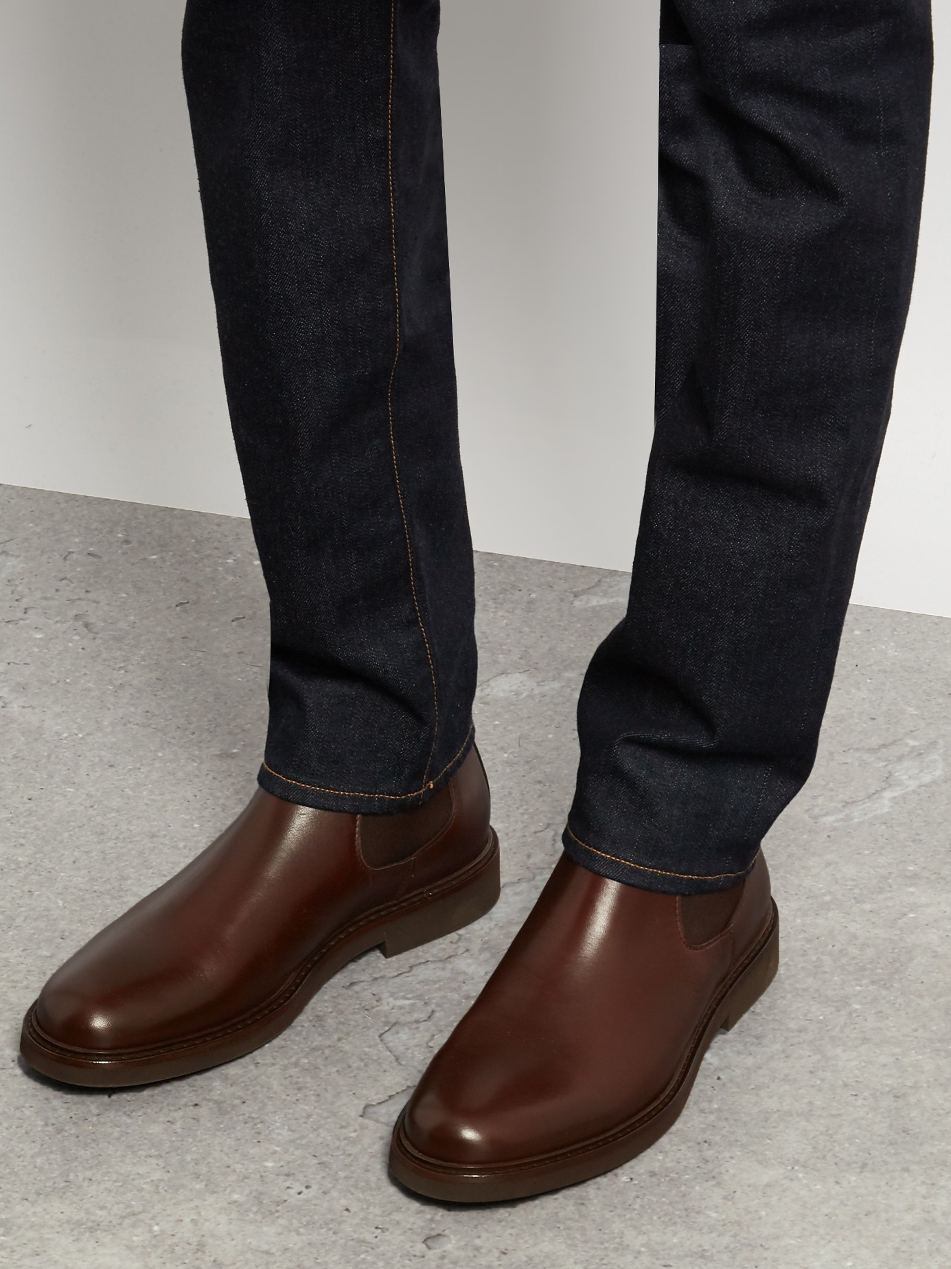 A.P.C. Leather Ankle Boots clearance online cheap real LlnYV8C4