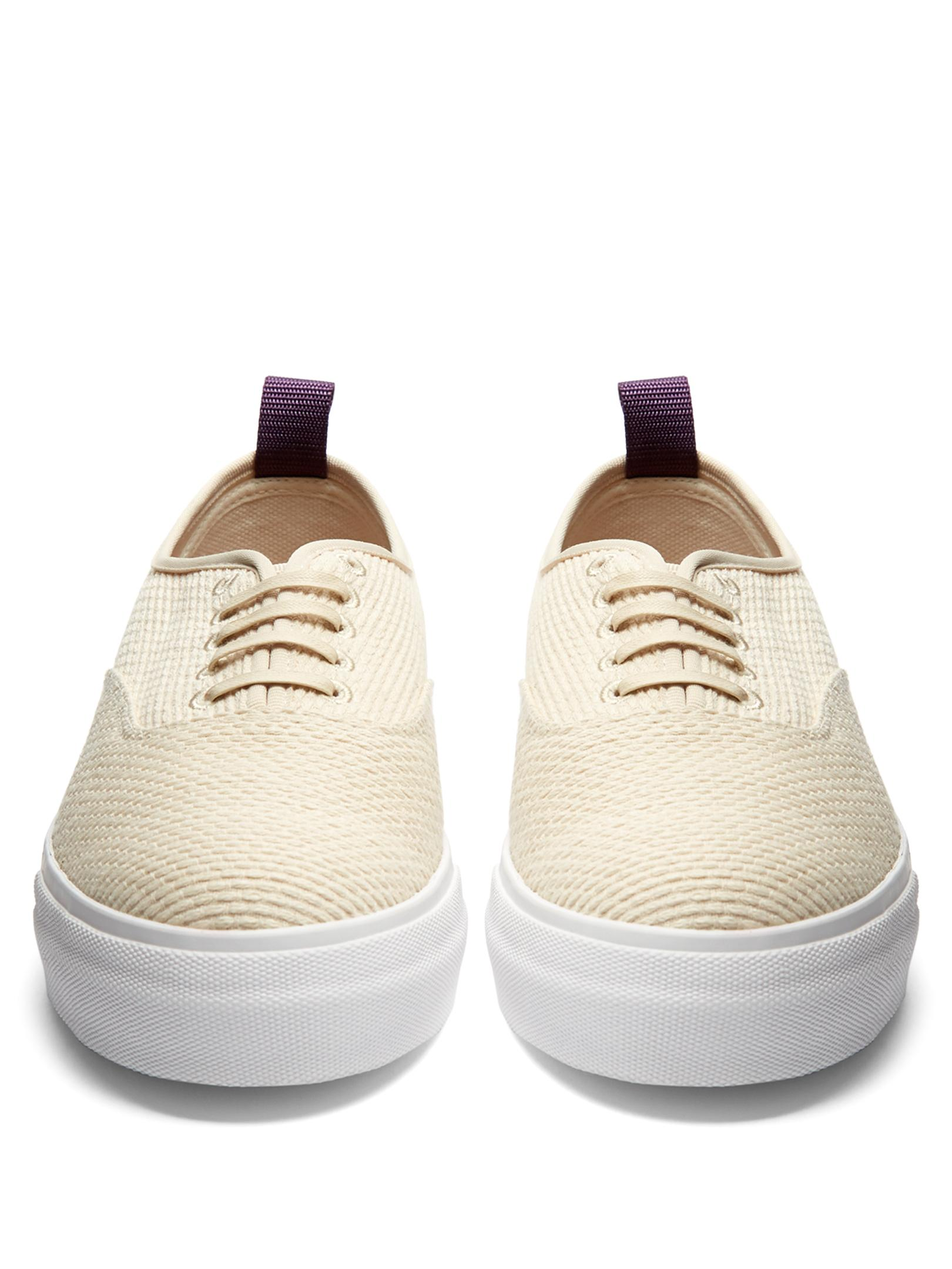Eytys Cotton Mother Kendo Trainers in Cream (Natural)