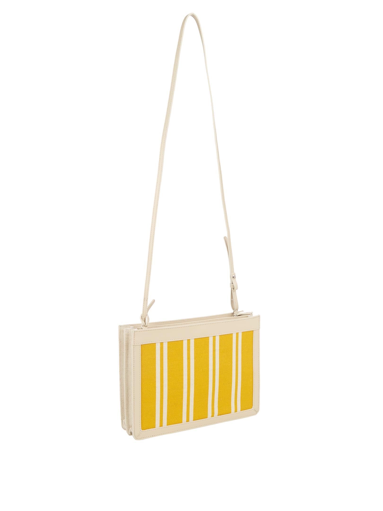 Balenciaga Navy Mini Cotton-canvas Cross-body Bag